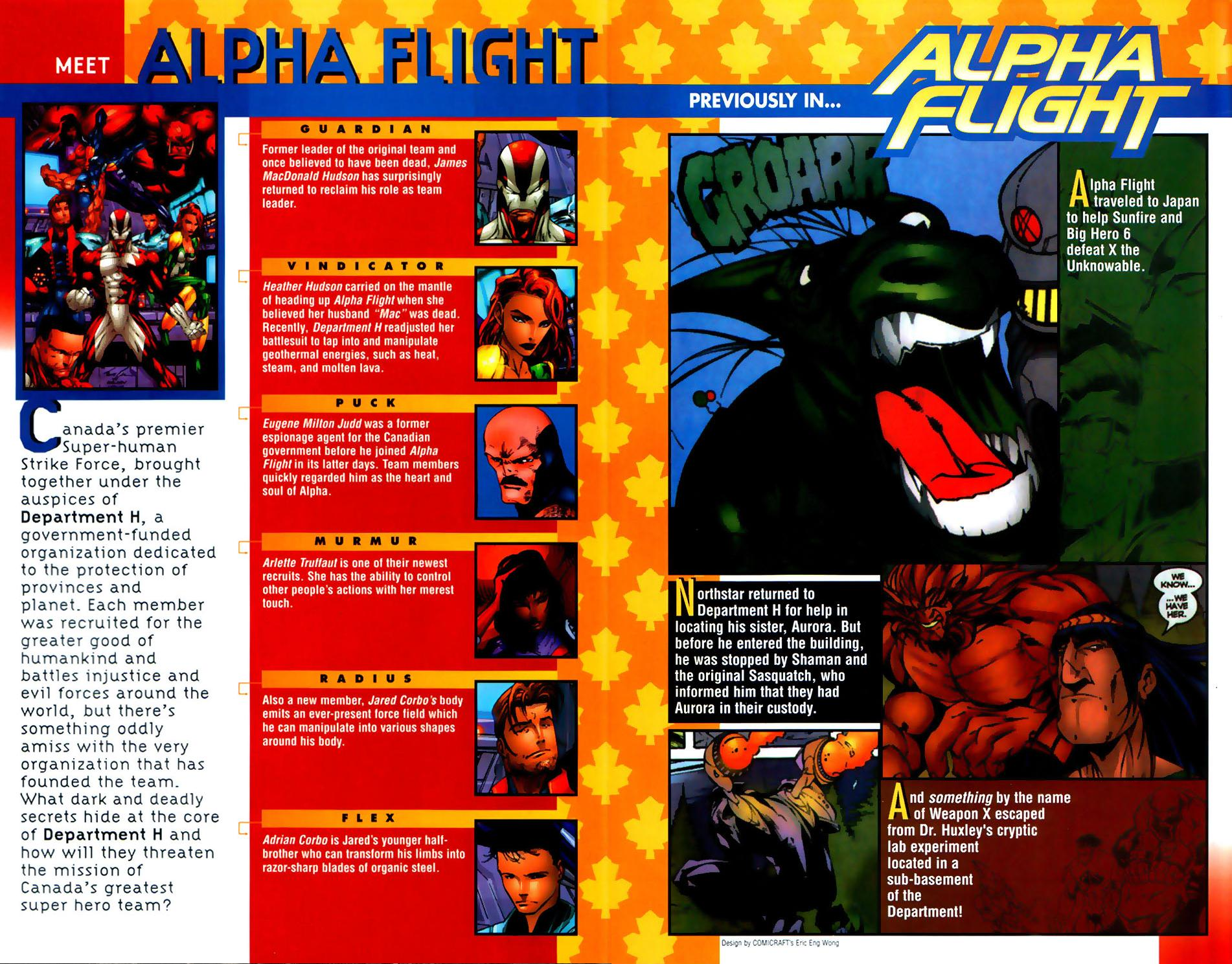 Alpha Flight (1997) 18 Page 2