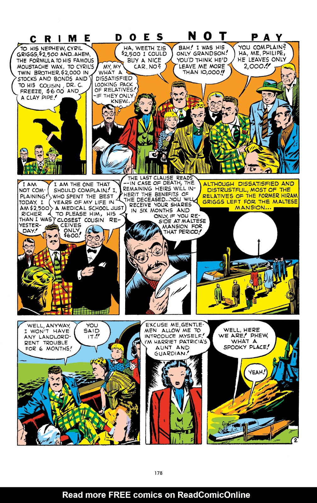 Read online Crime Does Not Pay Archives comic -  Issue # TPB 1 (Part 2) - 81