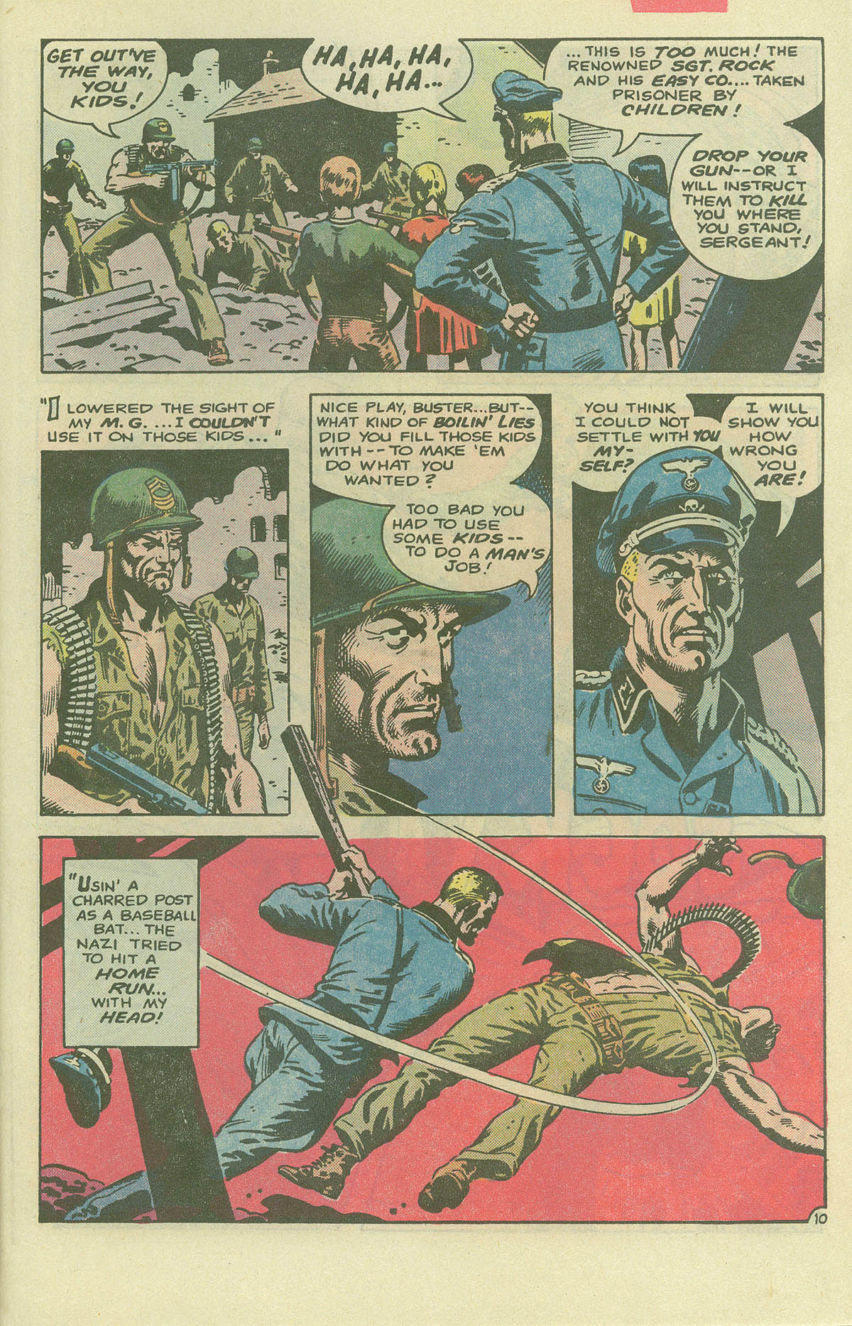 Read online Sgt. Rock comic -  Issue #396 - 28
