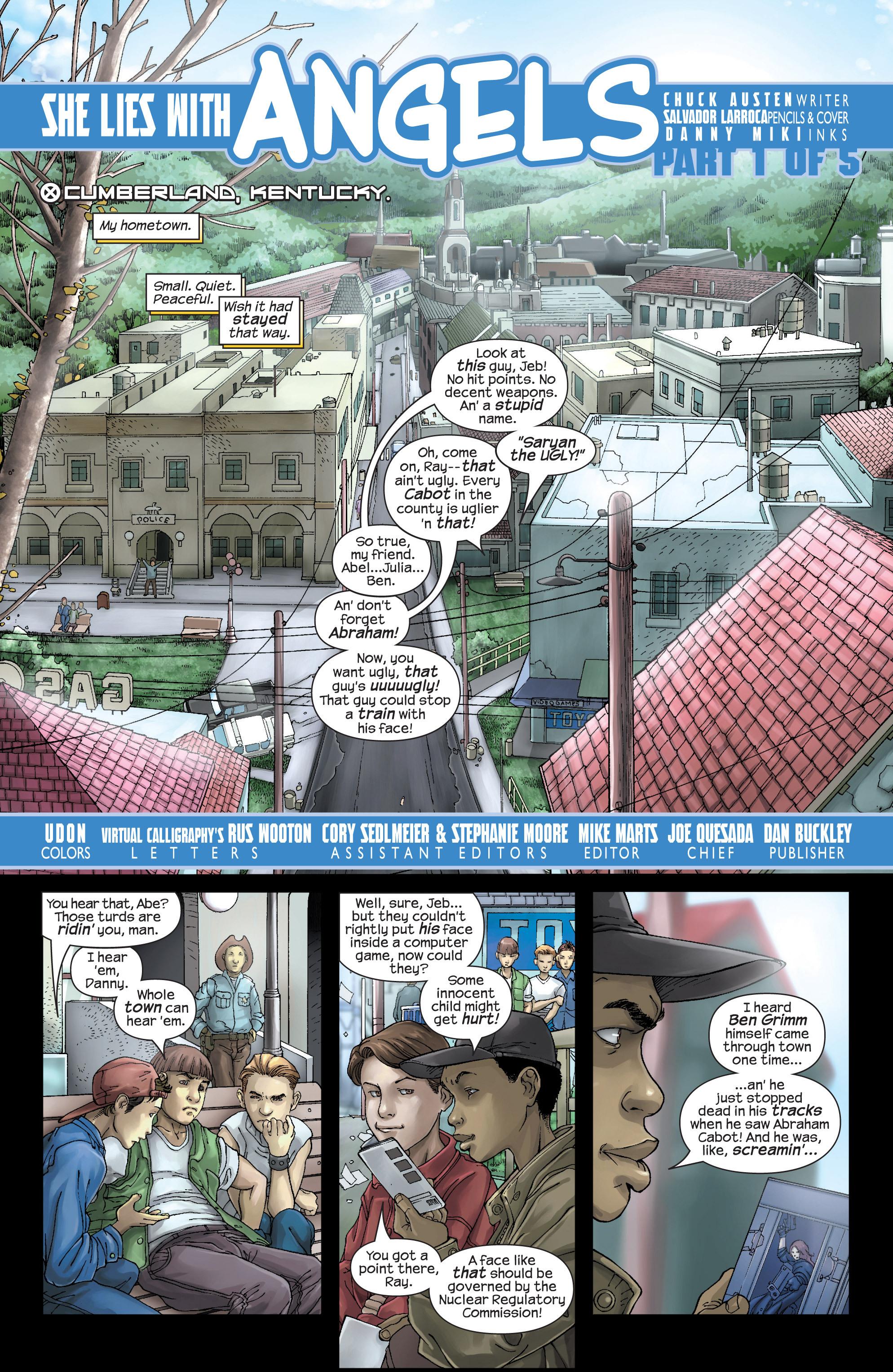 Read online Uncanny X-Men (1963) comic -  Issue #437 - 2