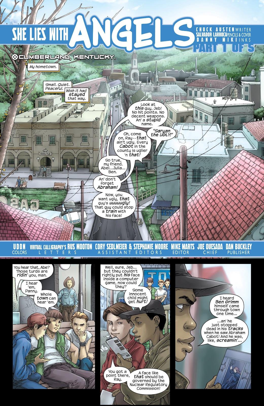 Uncanny X-Men (1963) issue 437 - Page 2