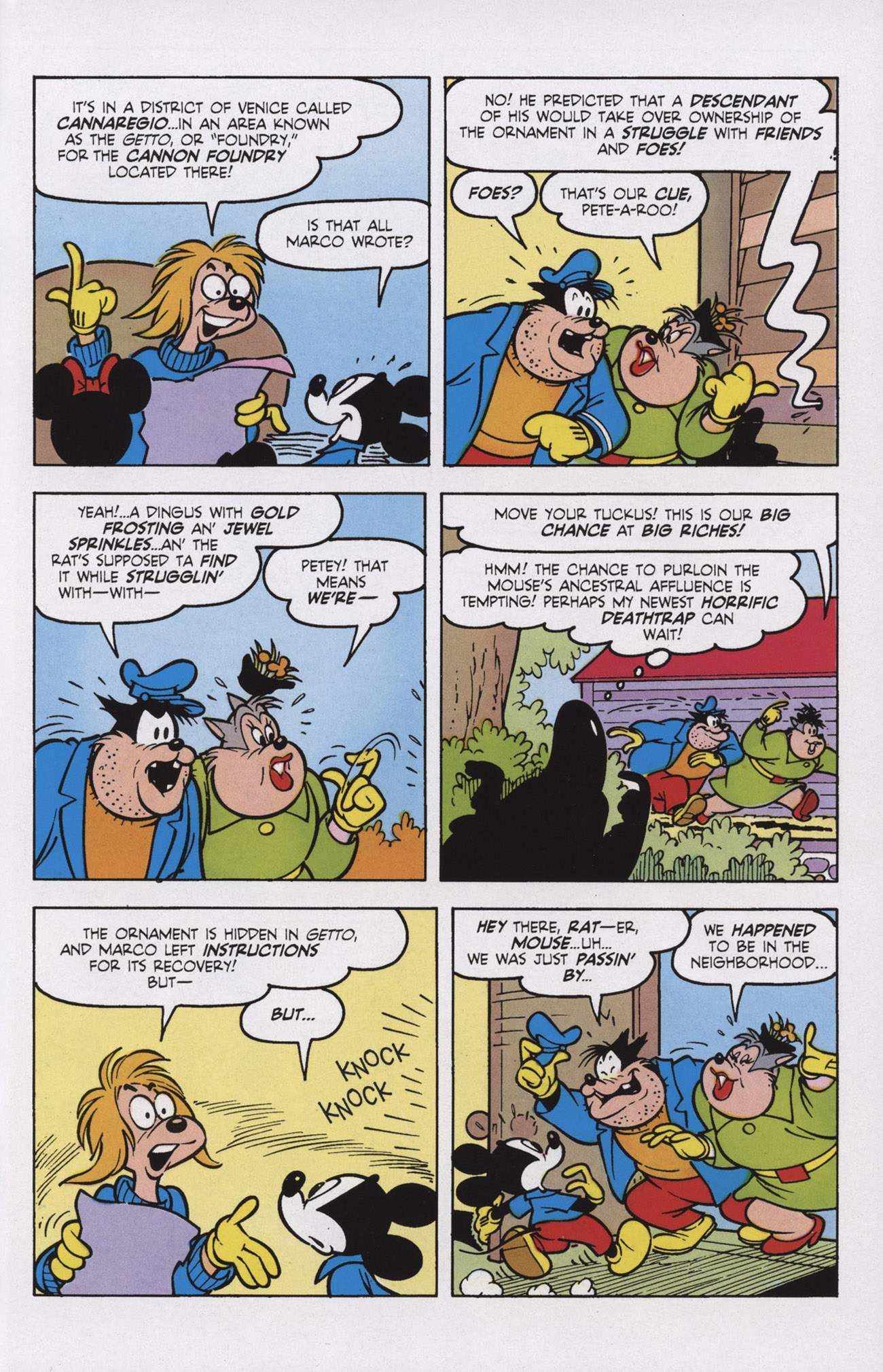 Read online Mickey Mouse (2011) comic -  Issue #309 - 21