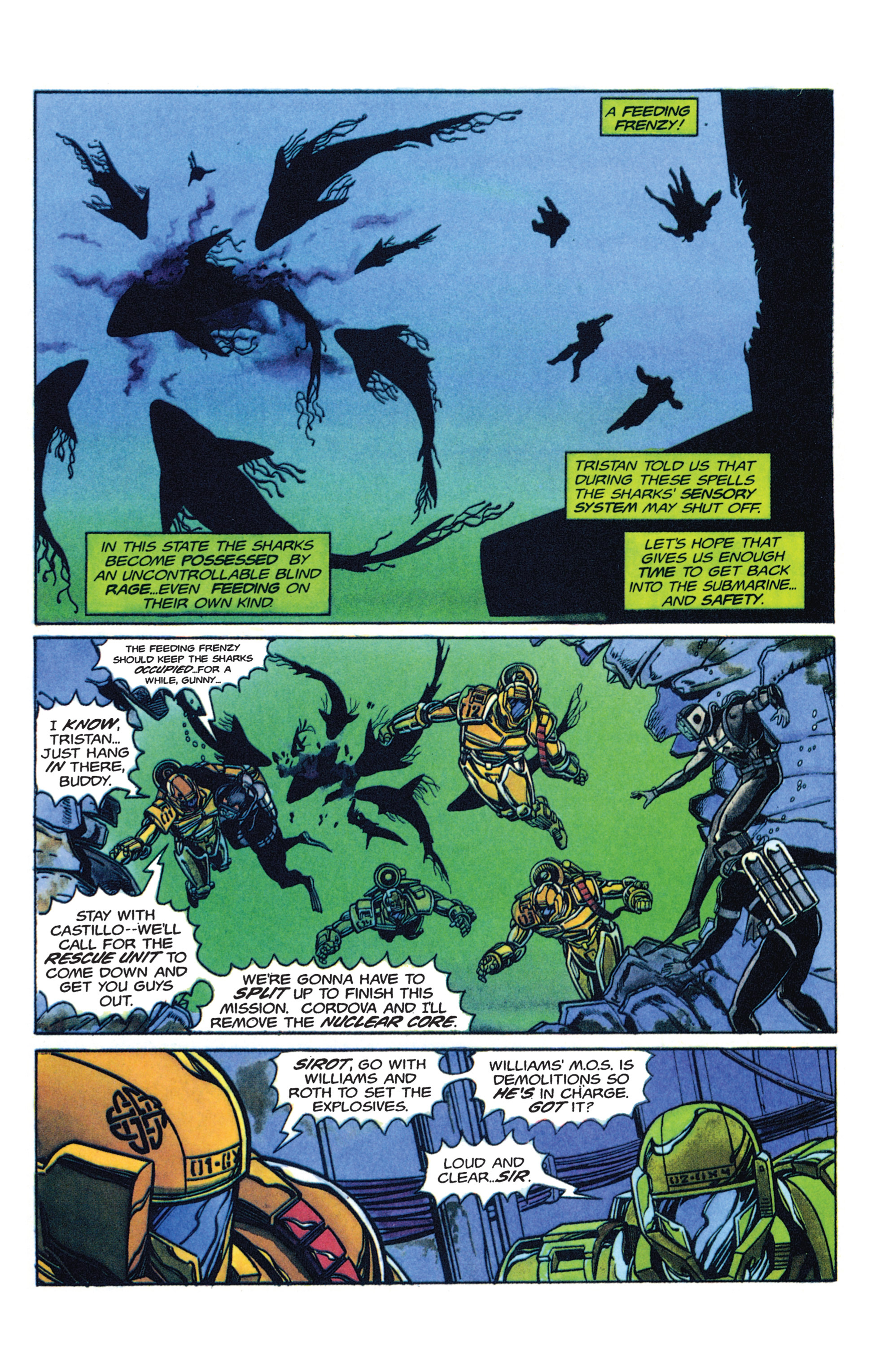 Read online Armorines comic -  Issue #2 - 7