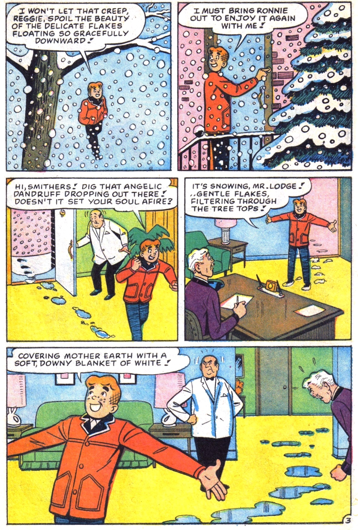 Read online Archie (1960) comic -  Issue #172 - 5