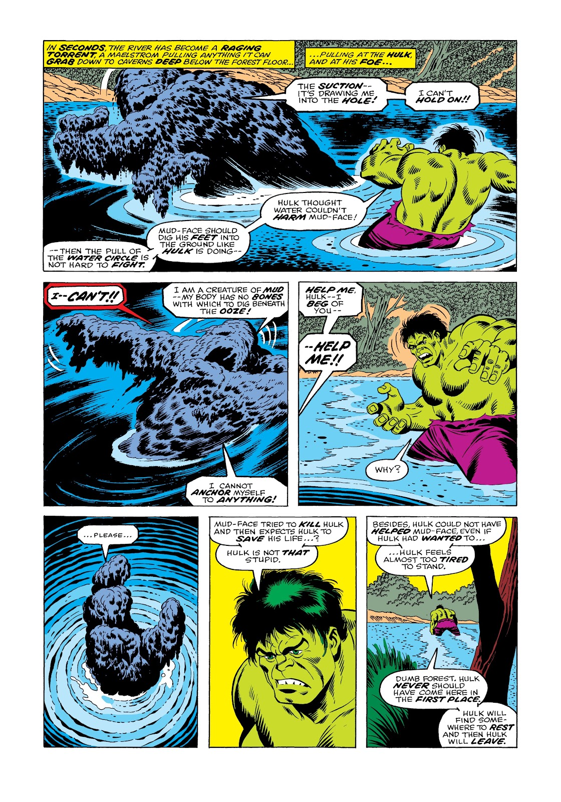 Read online Marvel Masterworks: The Incredible Hulk comic -  Issue # TPB 12 (Part 1) - 60