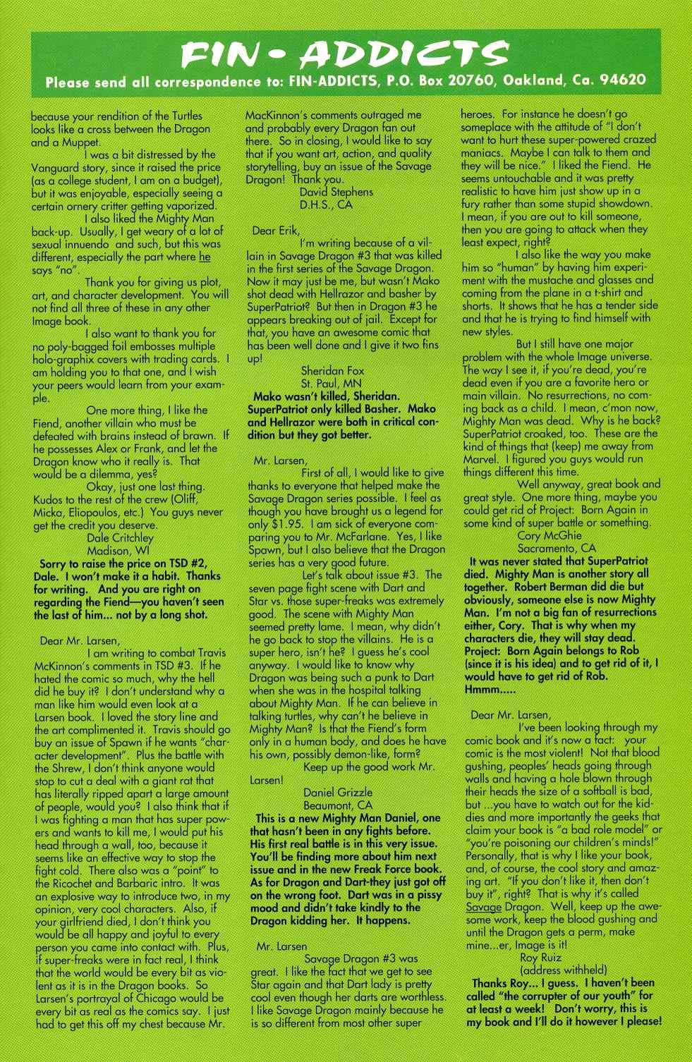 The Savage Dragon (1993) Issue #5 #7 - English 24