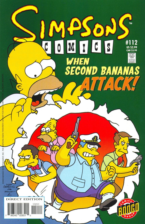 Read online Simpsons Comics comic -  Issue #112 - 1
