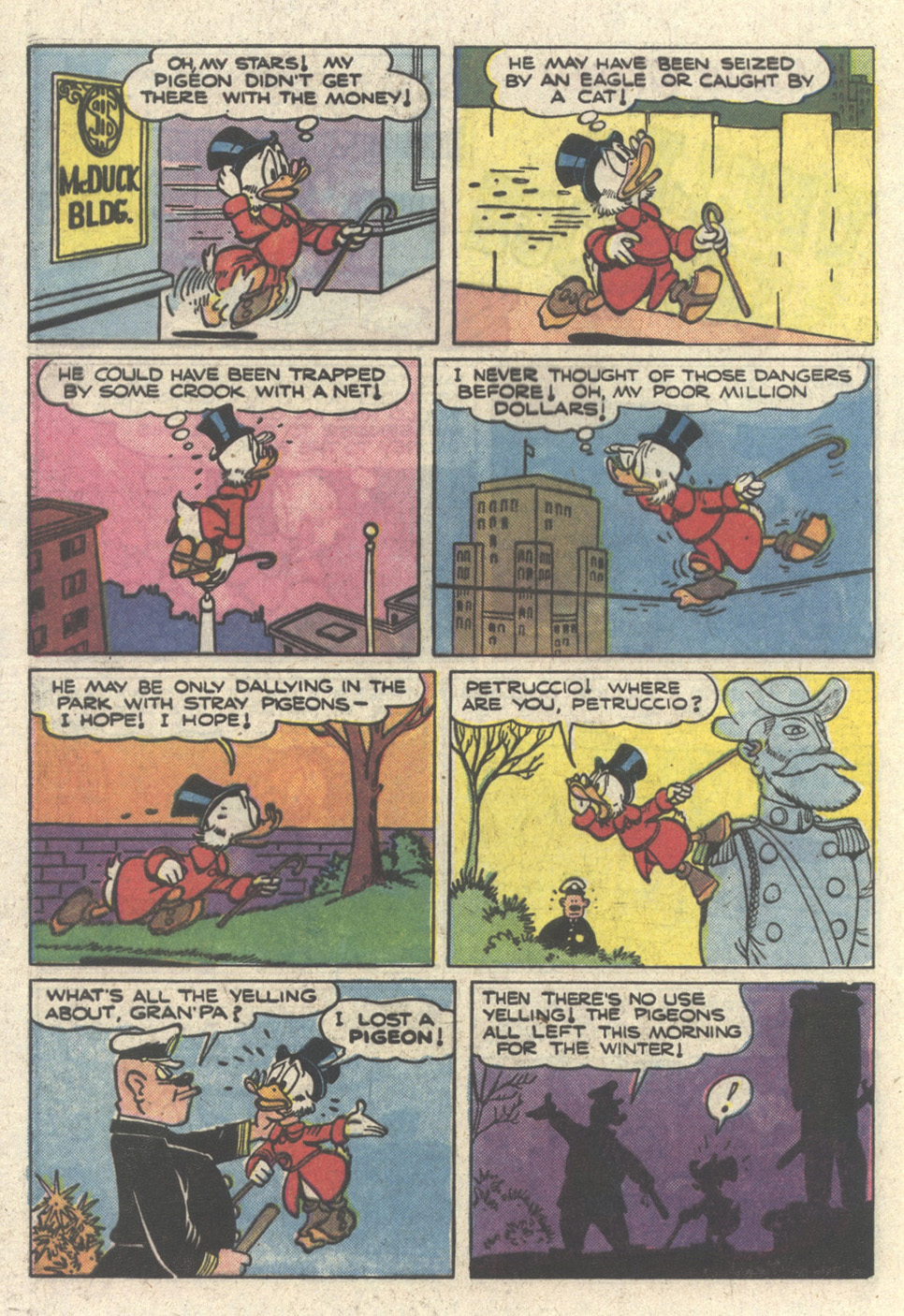 Read online Uncle Scrooge (1953) comic -  Issue #213 - 32