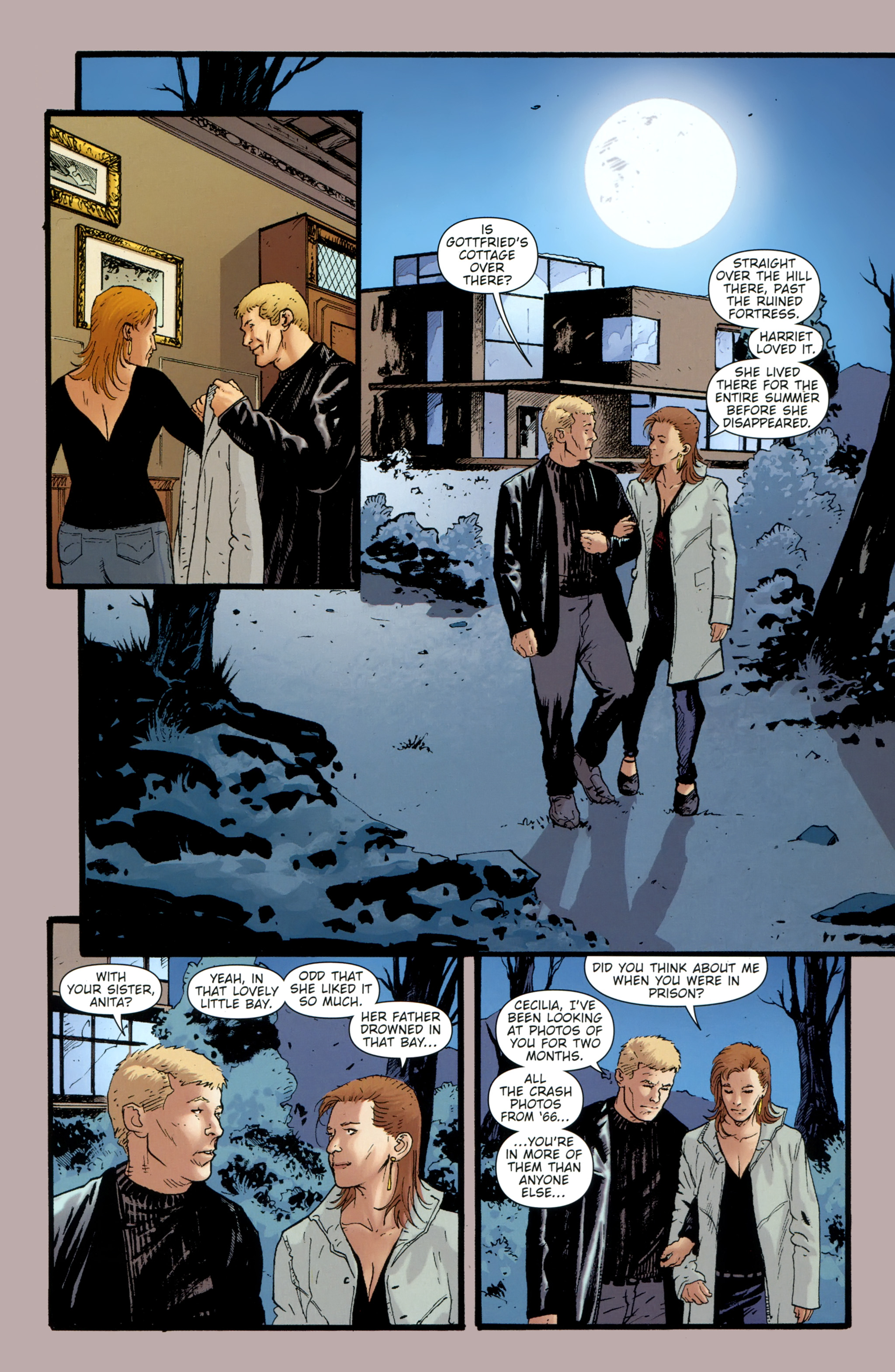 Read online The Girl With the Dragon Tattoo comic -  Issue # TPB 2 - 16