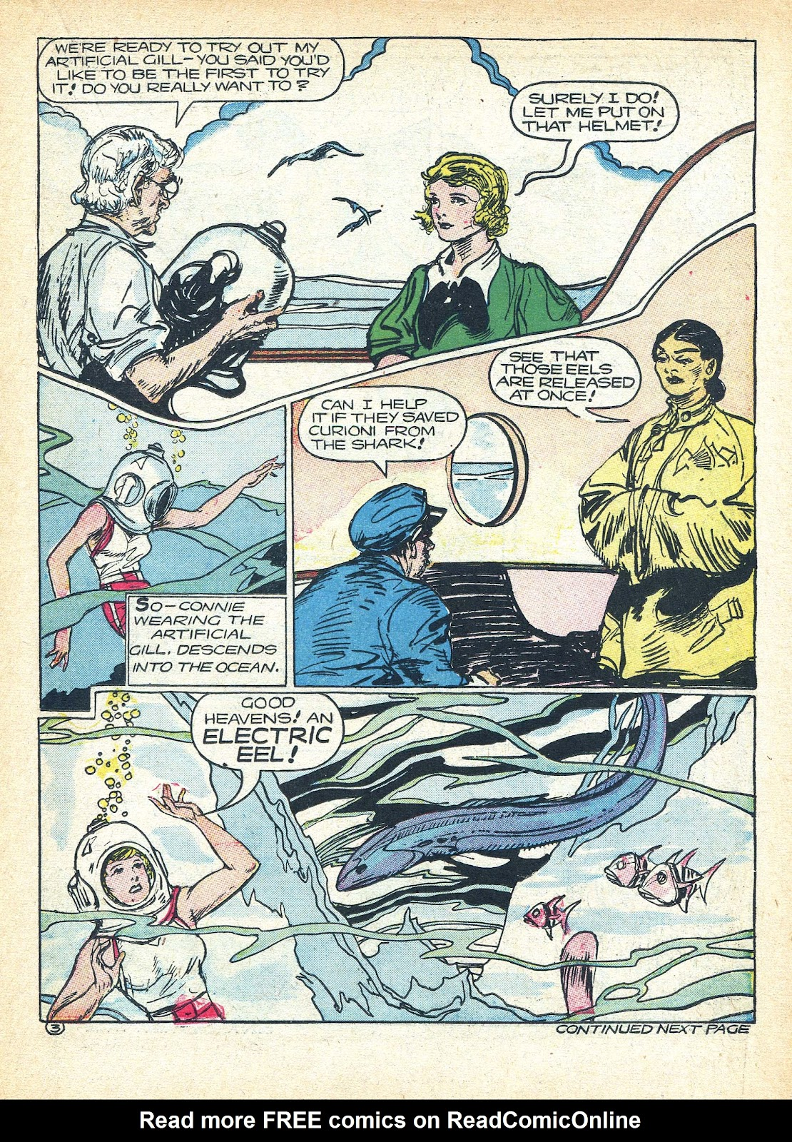 Read online Famous Funnies comic -  Issue #95 - 21
