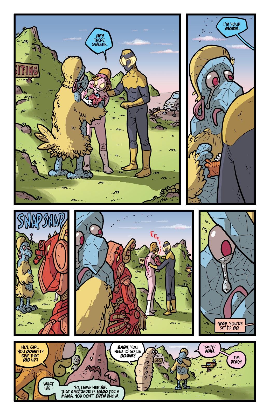 Read online Kaijumax: Season Four comic -  Issue #4 - 5