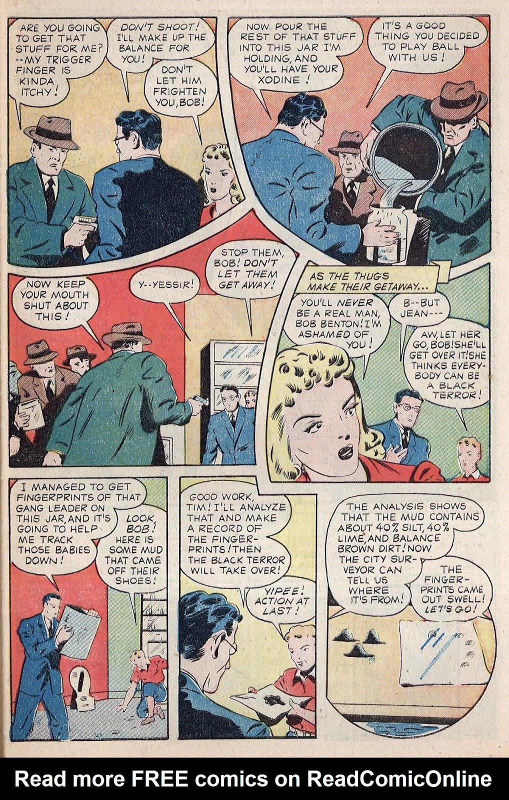 Exciting Comics (1940) issue 38 - Page 5