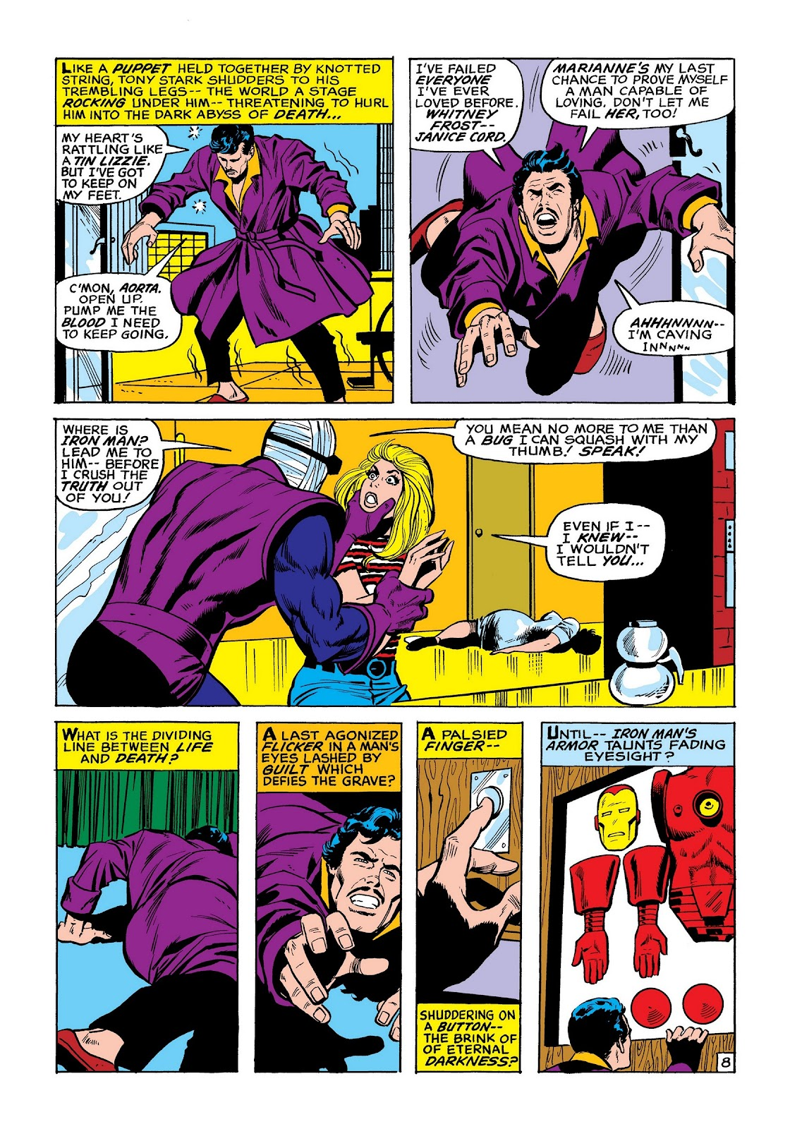 Read online Marvel Masterworks: The Invincible Iron Man comic -  Issue # TPB 8 (Part 2) - 16