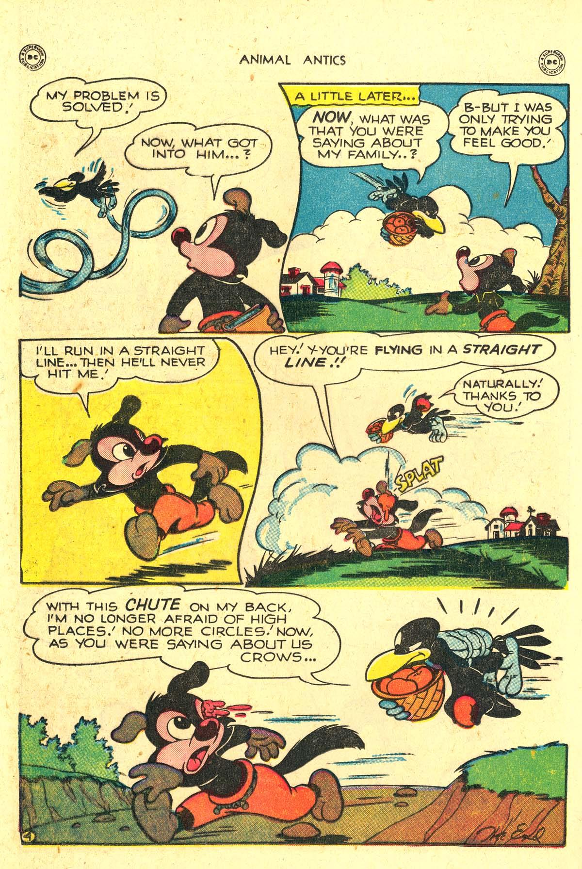 Read online Animal Antics comic -  Issue #18 - 22