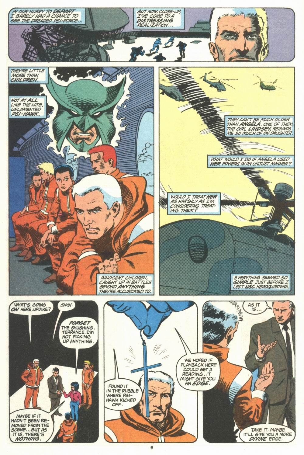 Read online Justice (1986) comic -  Issue #29 - 7