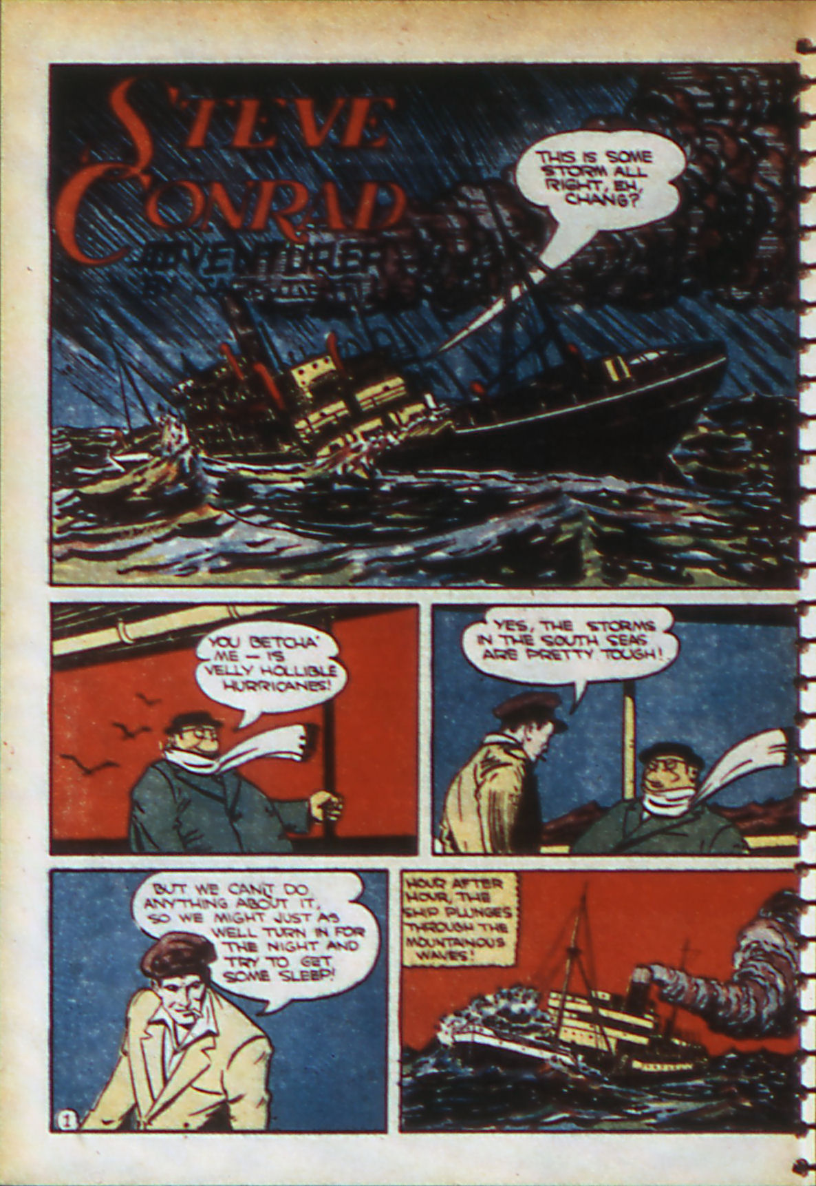 Read online Adventure Comics (1938) comic -  Issue #56 - 49