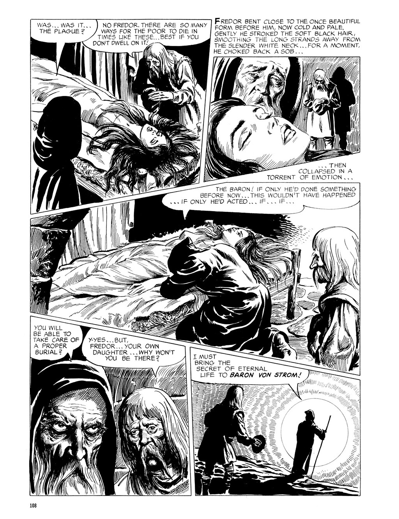 Read online Eerie Archives comic -  Issue # TPB 2 - 109
