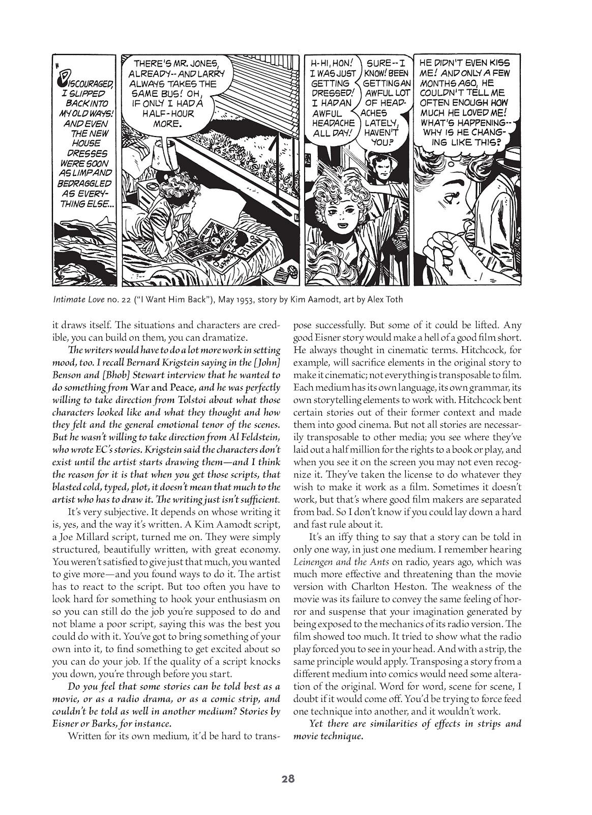 Read online Setting the Standard: Comics by Alex Toth 1952-1954 comic -  Issue # TPB (Part 1) - 27