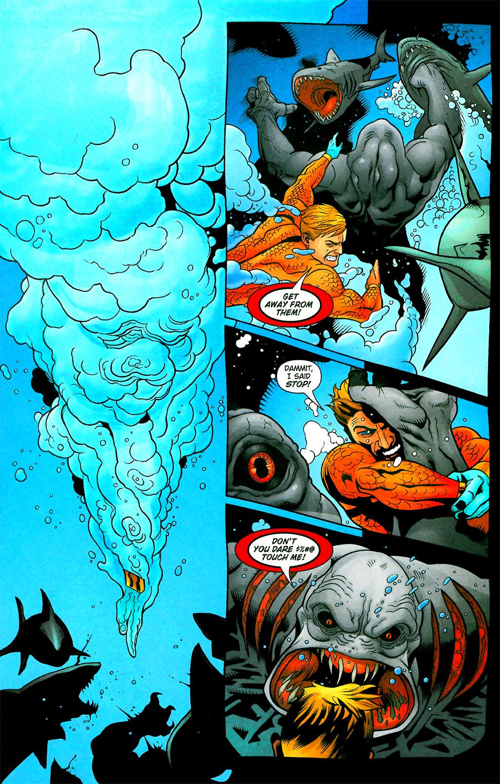 Read online Aquaman (2003) comic -  Issue #28 - 15