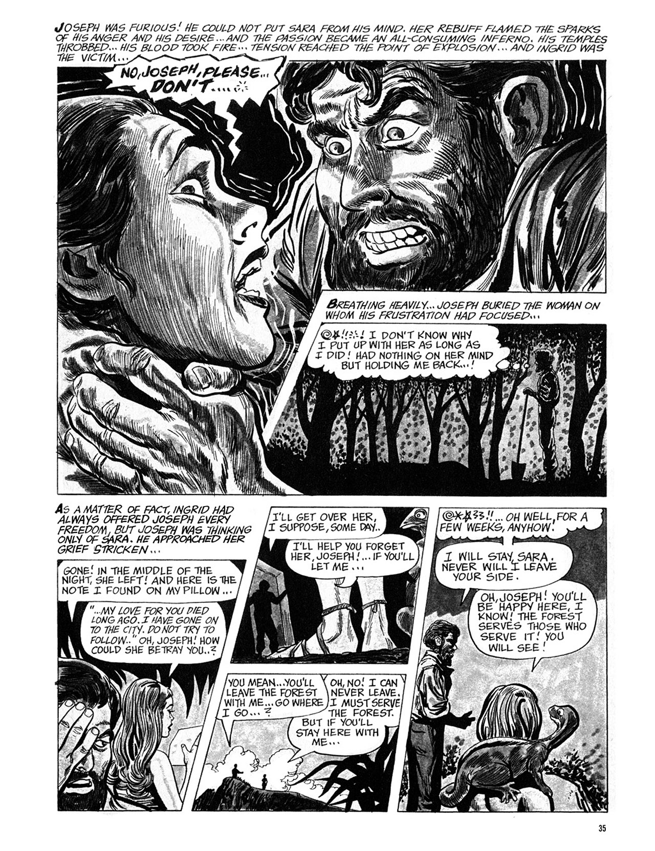 Read online Eerie Archives comic -  Issue # TPB 4 - 36