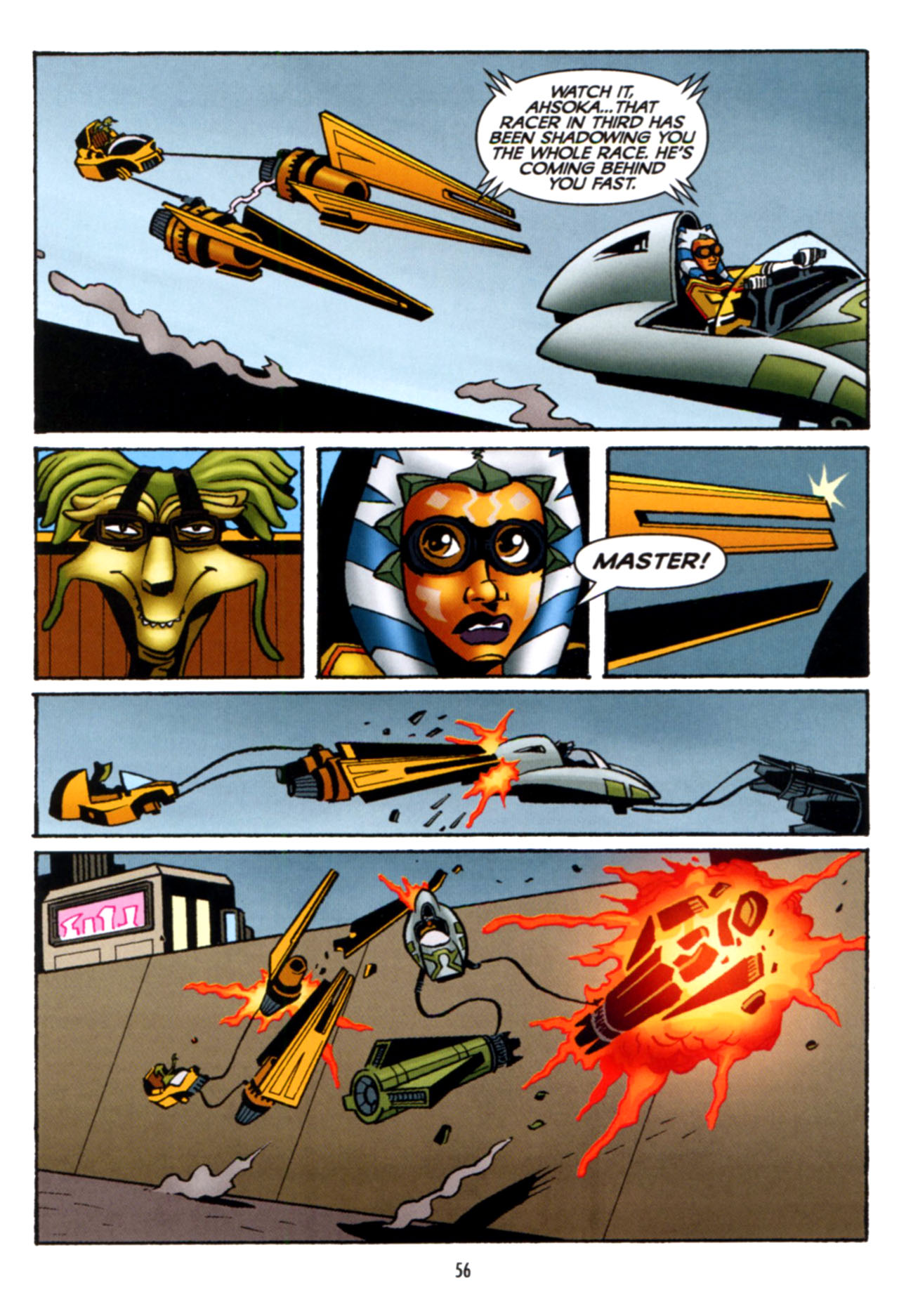 Read online Star Wars: The Clone Wars - Crash Course comic -  Issue # Full - 57