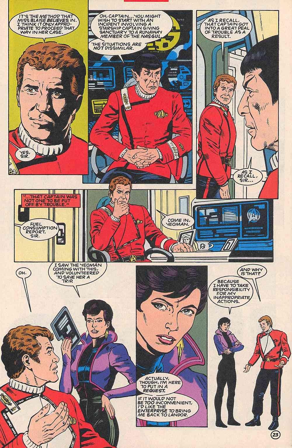 Read online Star Trek (1989) comic -  Issue # _Special 1 - 28