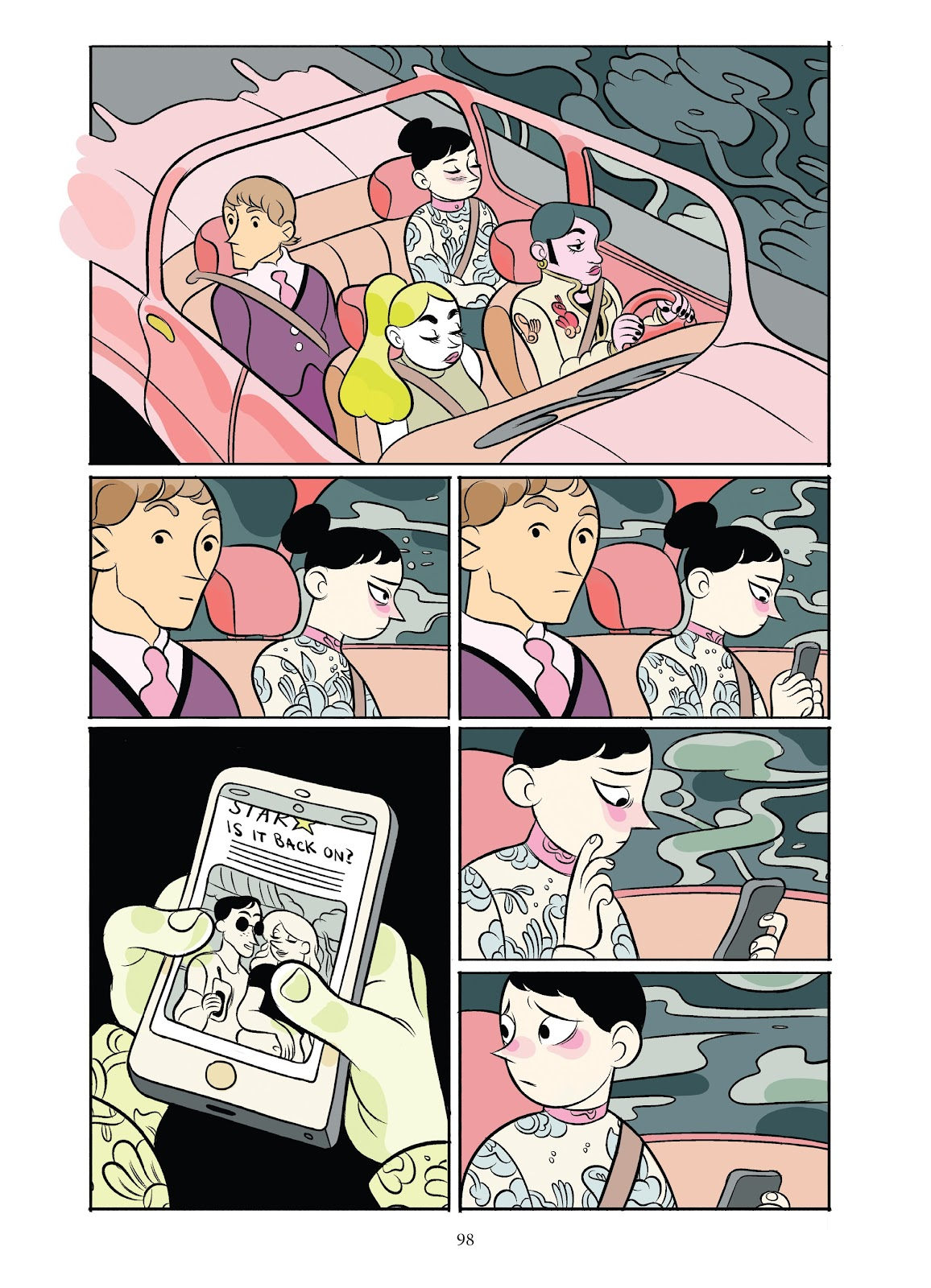 Read online Girl Town comic -  Issue # TPB (Part 1) - 98