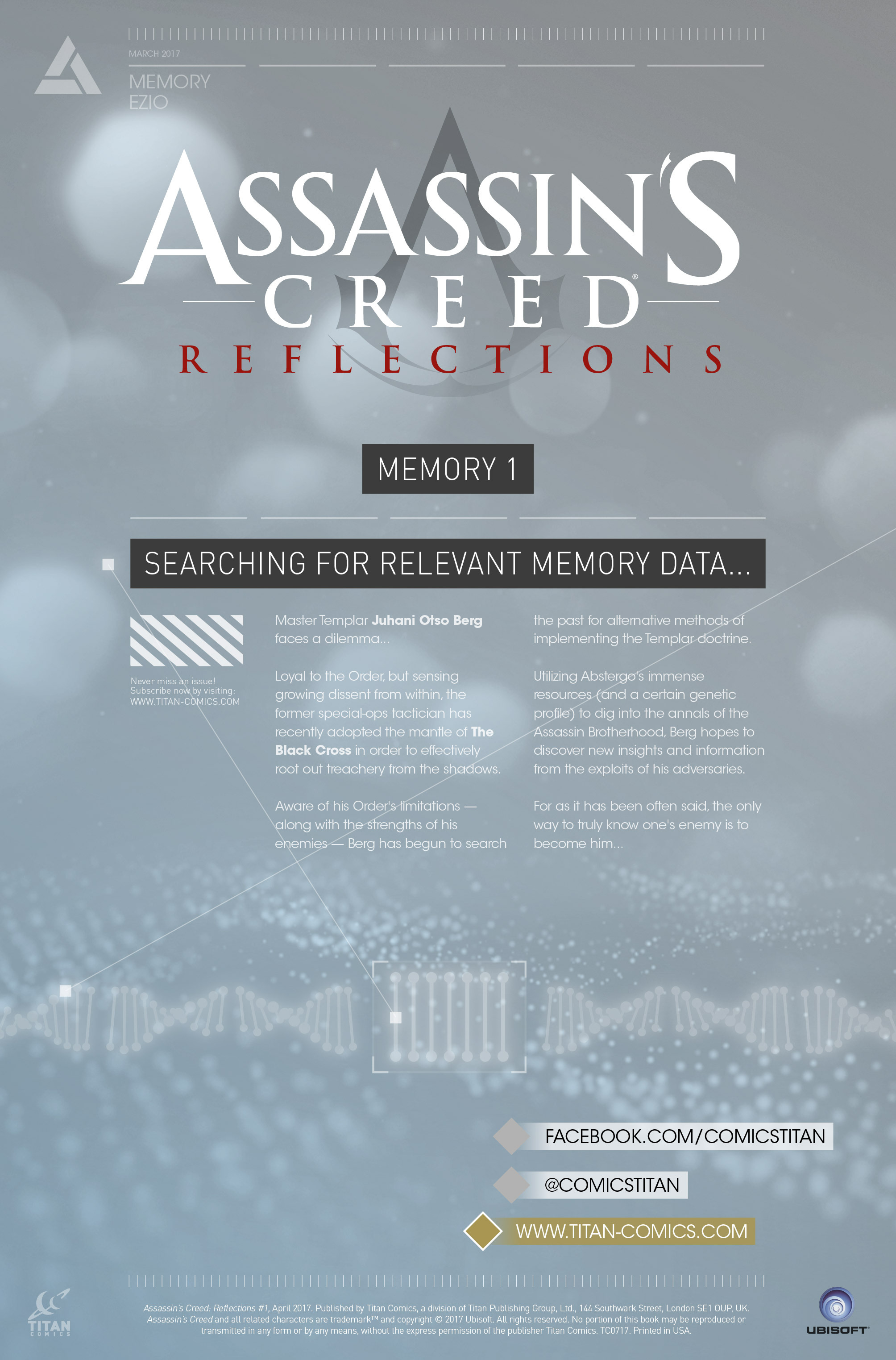 Read online Assassin's Creed: Reflections comic -  Issue #1 - 2