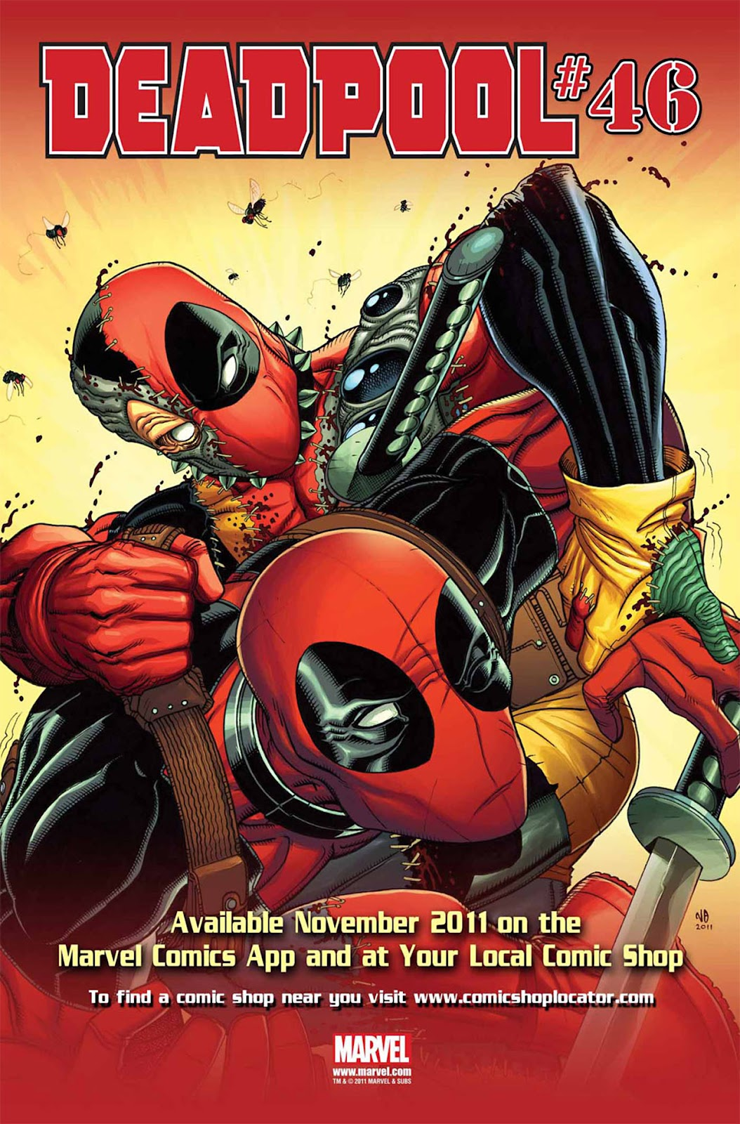 Read online Deadpool (2008) comic -  Issue #45 - 24