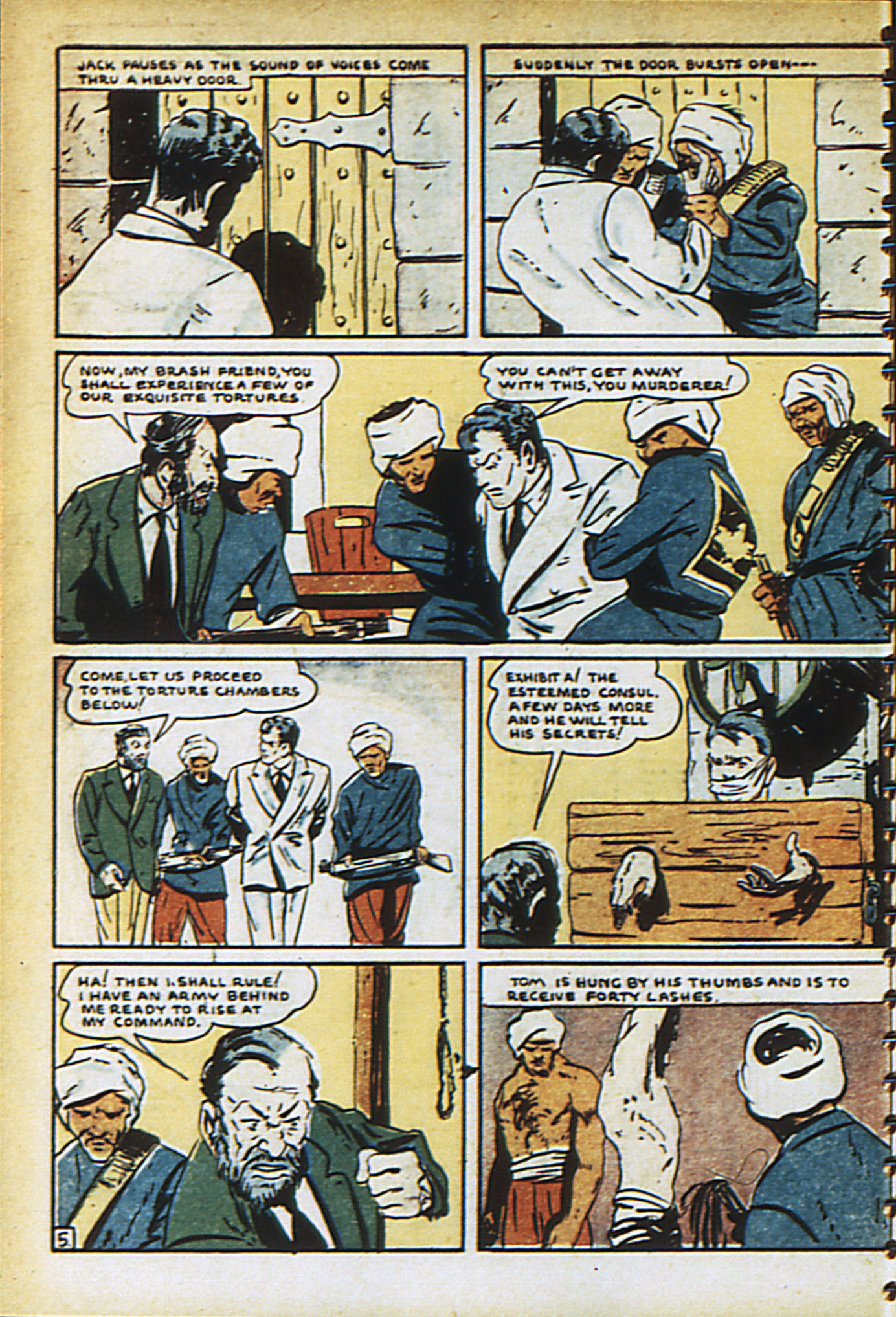 Read online Adventure Comics (1938) comic -  Issue #30 - 15