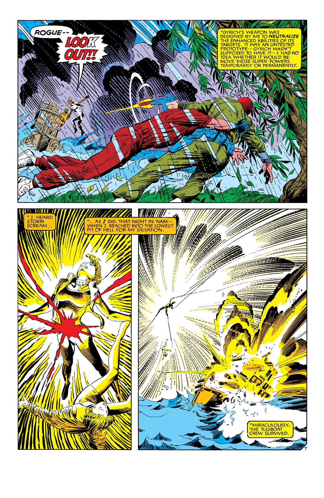 Uncanny X-Men (1963) issue 186 - Page 8