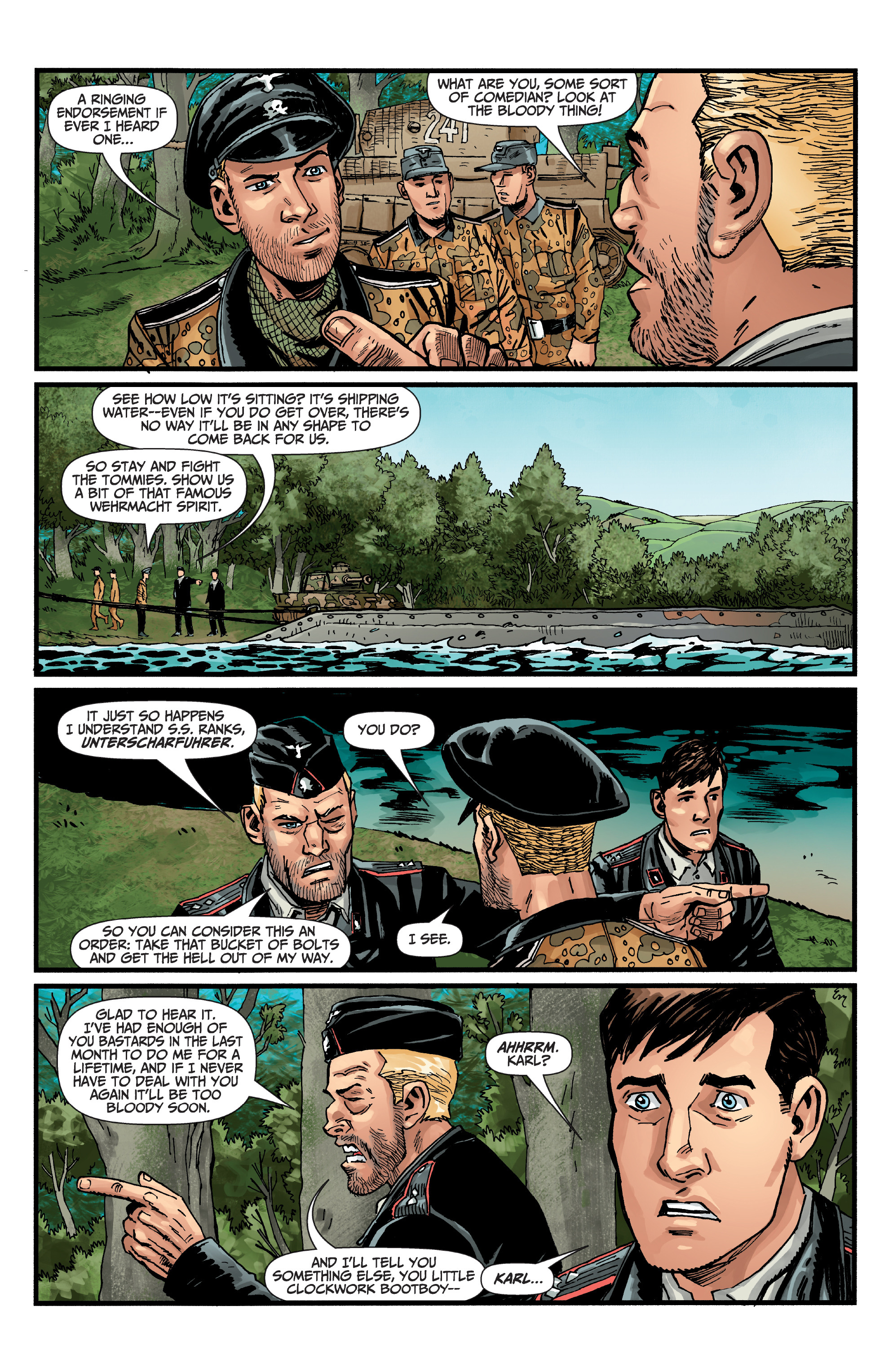 Read online World of Tanks comic -  Issue #5 - 7