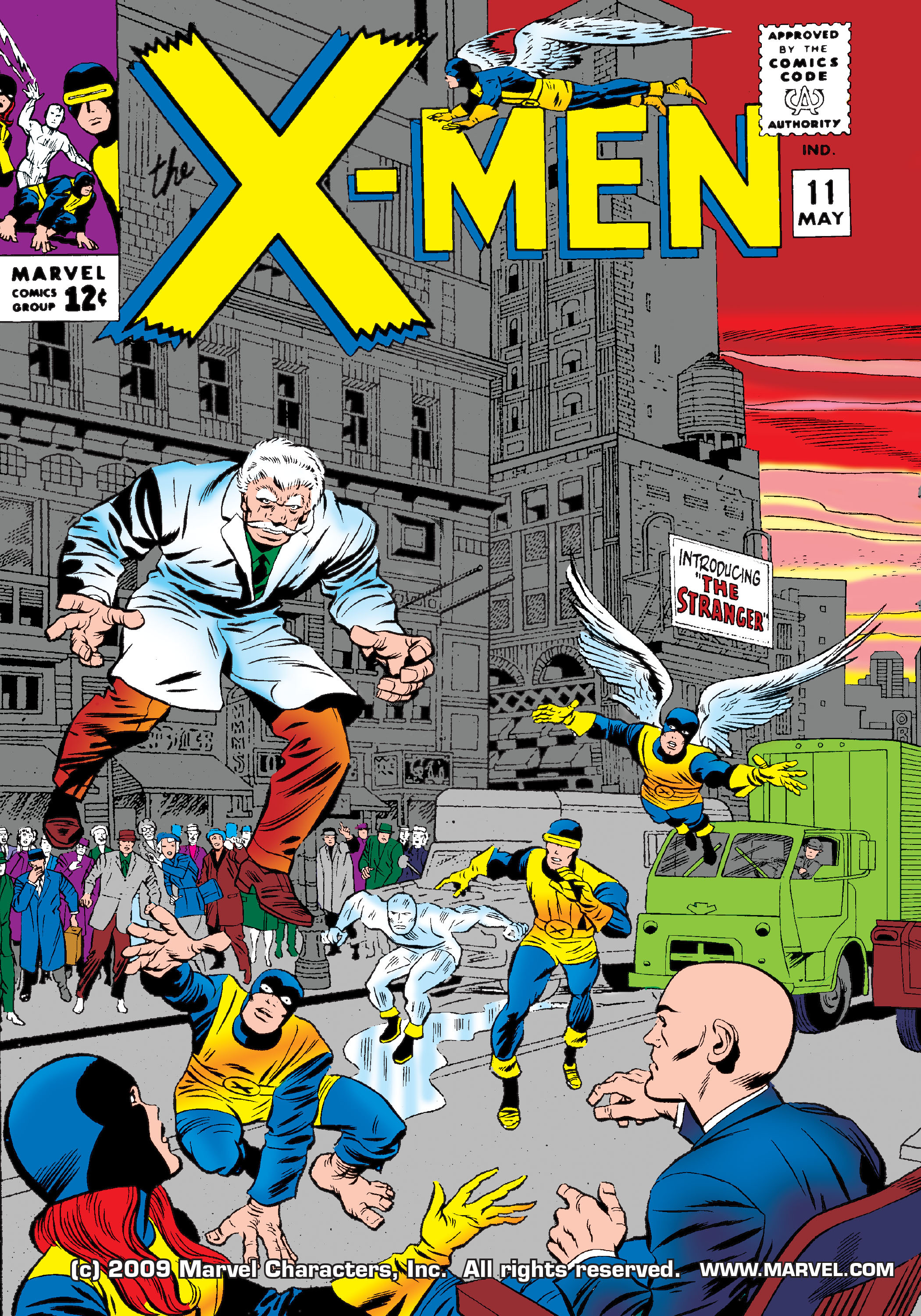 Read online Uncanny X-Men (1963) comic -  Issue #11 - 1