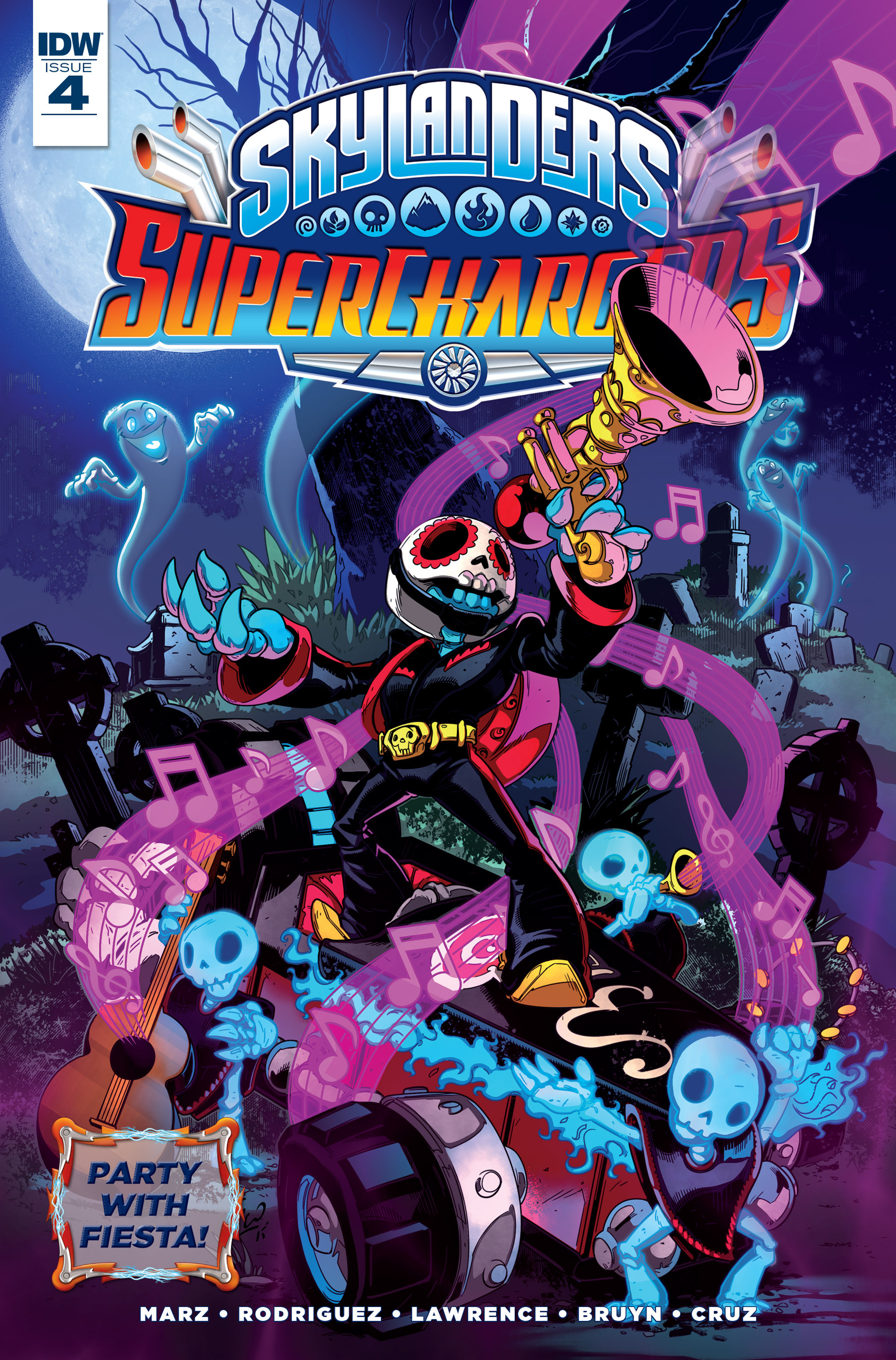 Read online Skylanders Superchargers comic -  Issue #4 - 1
