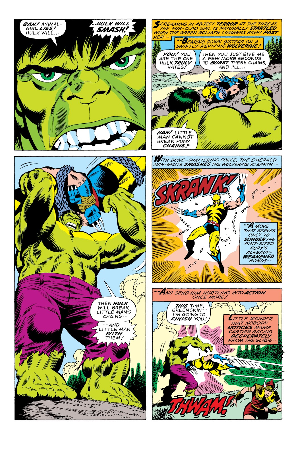 Read online Marvel Masterworks: The Incredible Hulk comic -  Issue # TPB 10 (Part 3) - 18