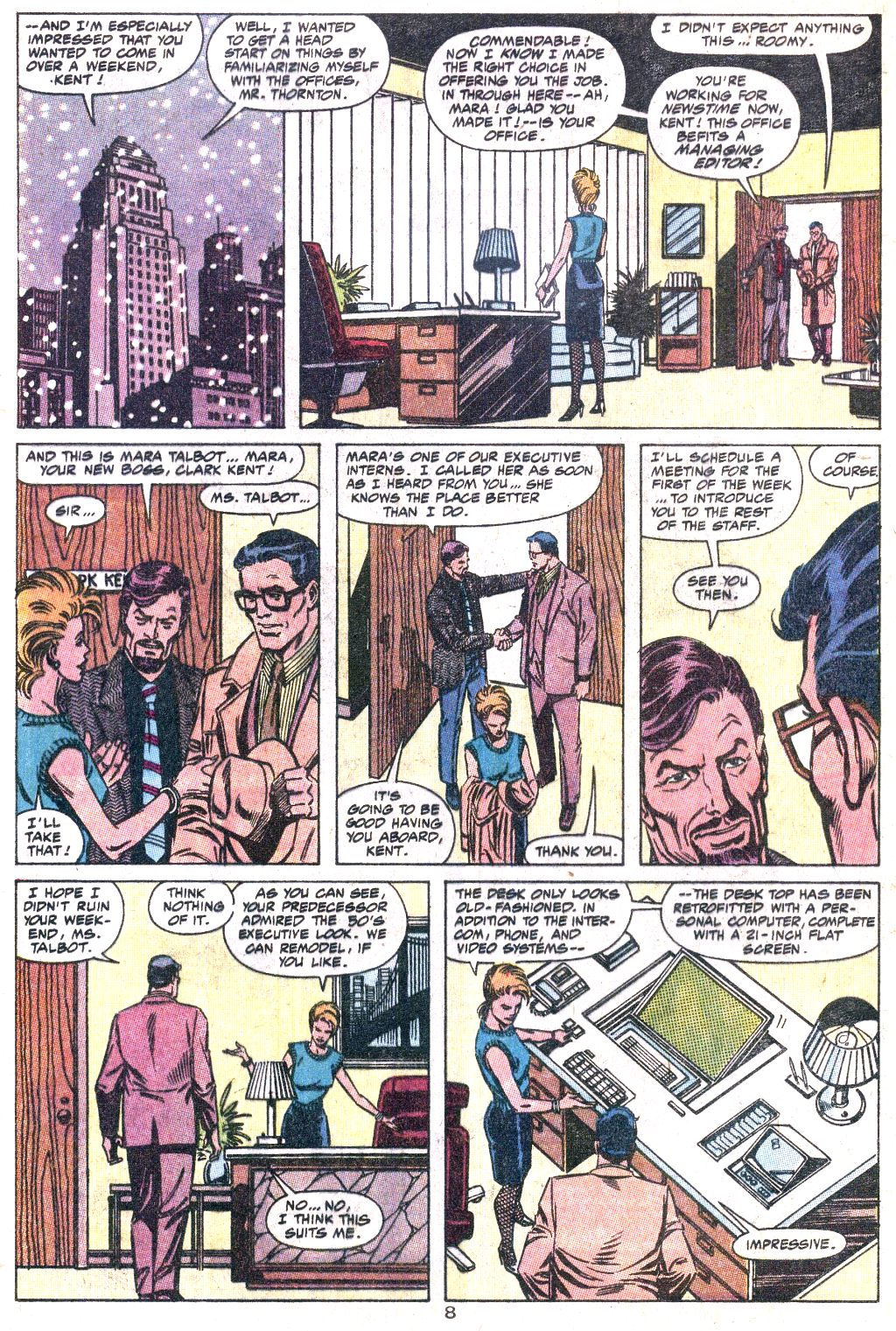 Read online Action Comics (1938) comic -  Issue #649 - 9