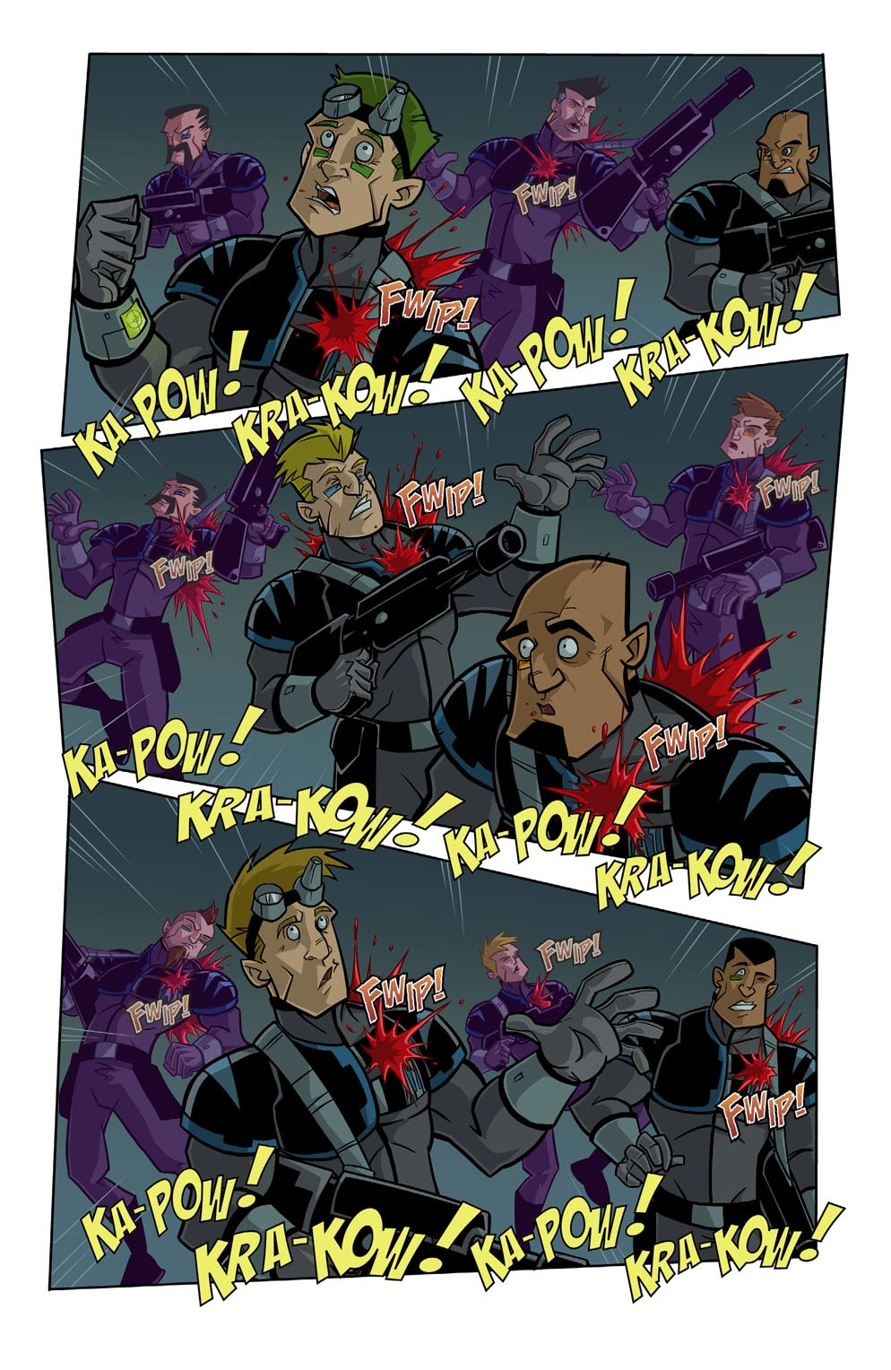 Read online Xombie Reanimated comic -  Issue #1 - 7