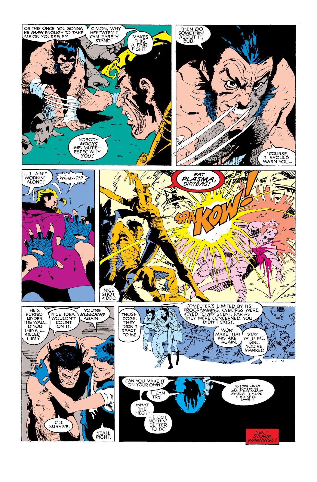 Uncanny X-Men (1963) issue 252 - Page 24