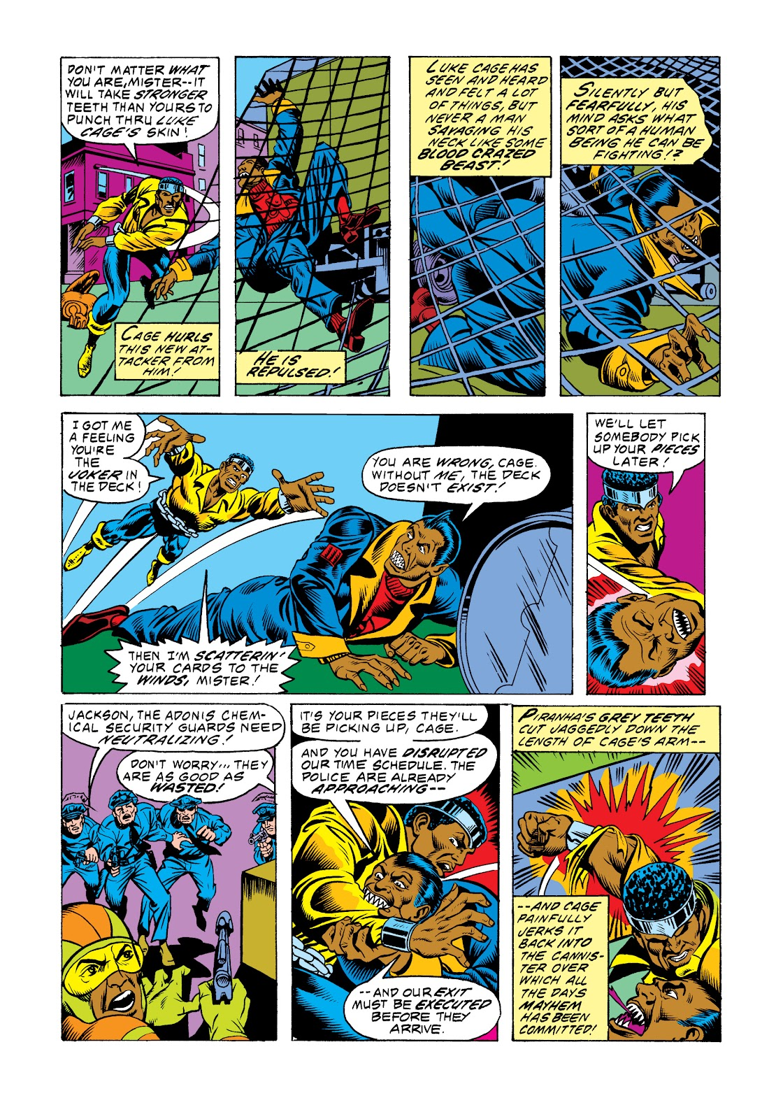 Read online Marvel Masterworks: Luke Cage, Power Man comic -  Issue # TPB 2 (Part 3) - 75
