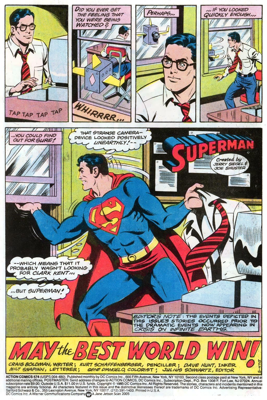 Read online Action Comics (1938) comic -  Issue #574 - 3