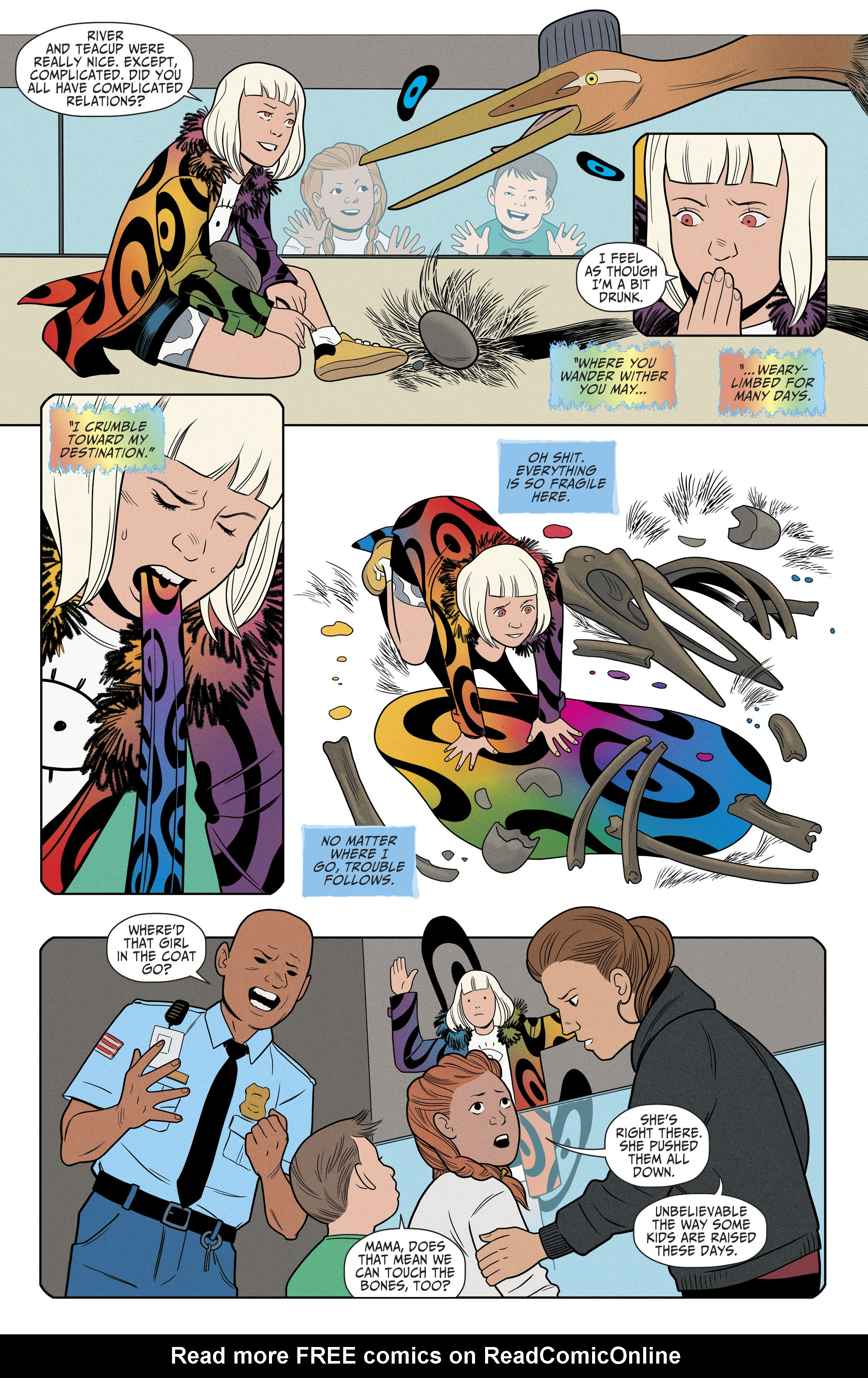 Read online Shade, the Changing Girl comic -  Issue #8 - 20