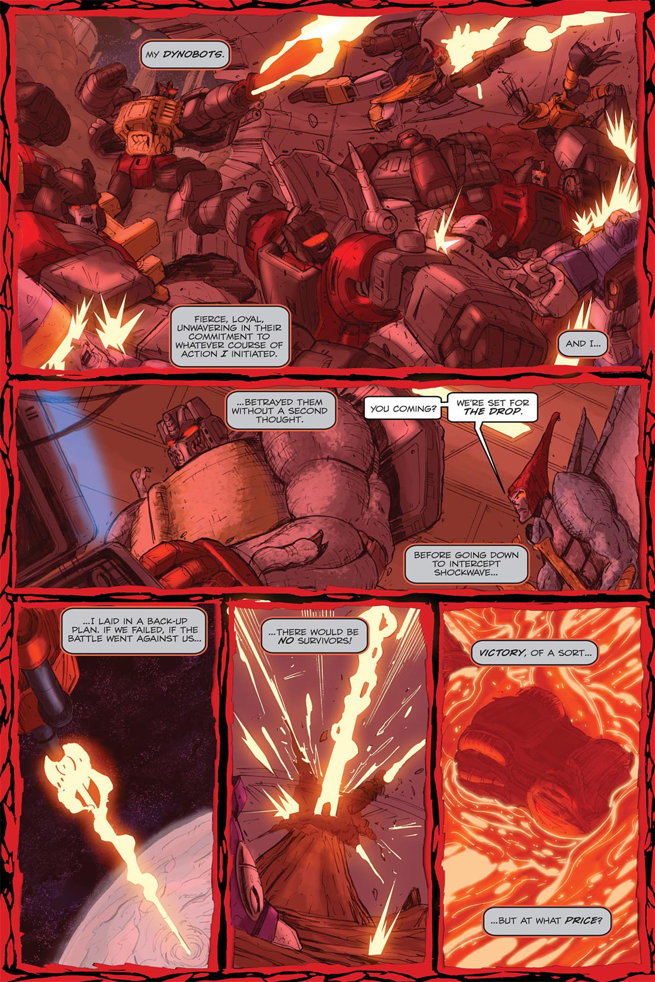 Read online Transformers Spotlight: Grimlock comic -  Issue # Full - 24