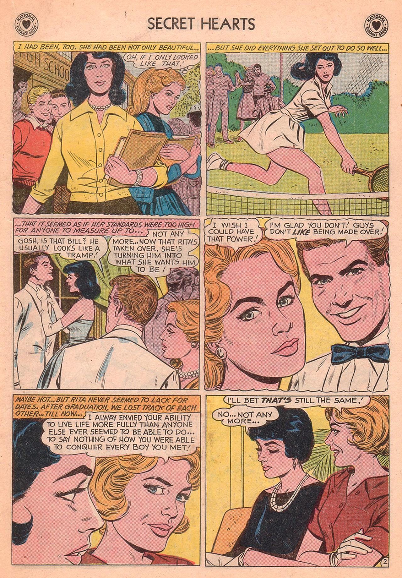 Read online Secret Hearts comic -  Issue #77 - 19