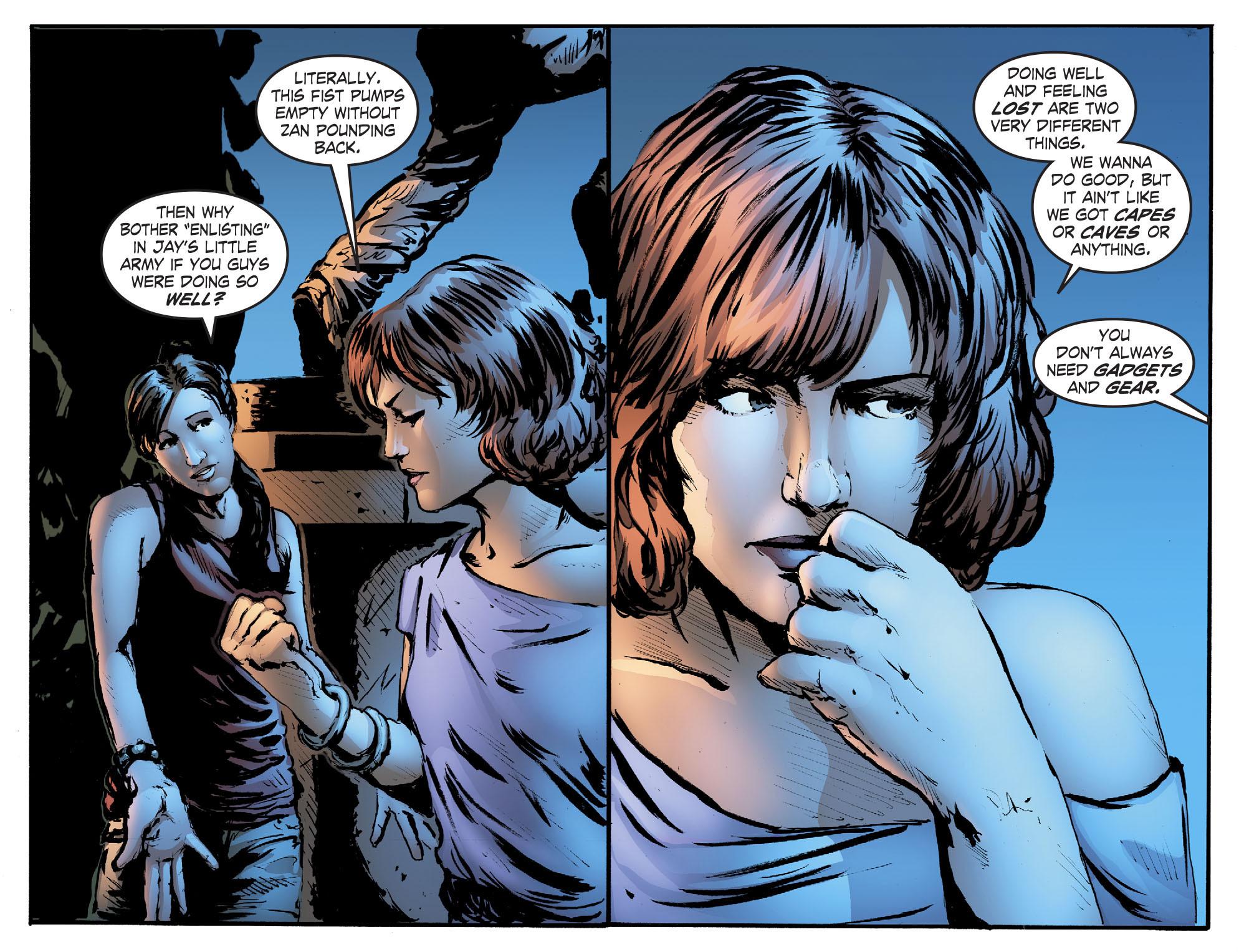 Read online Smallville: Titans comic -  Issue #2 - 12