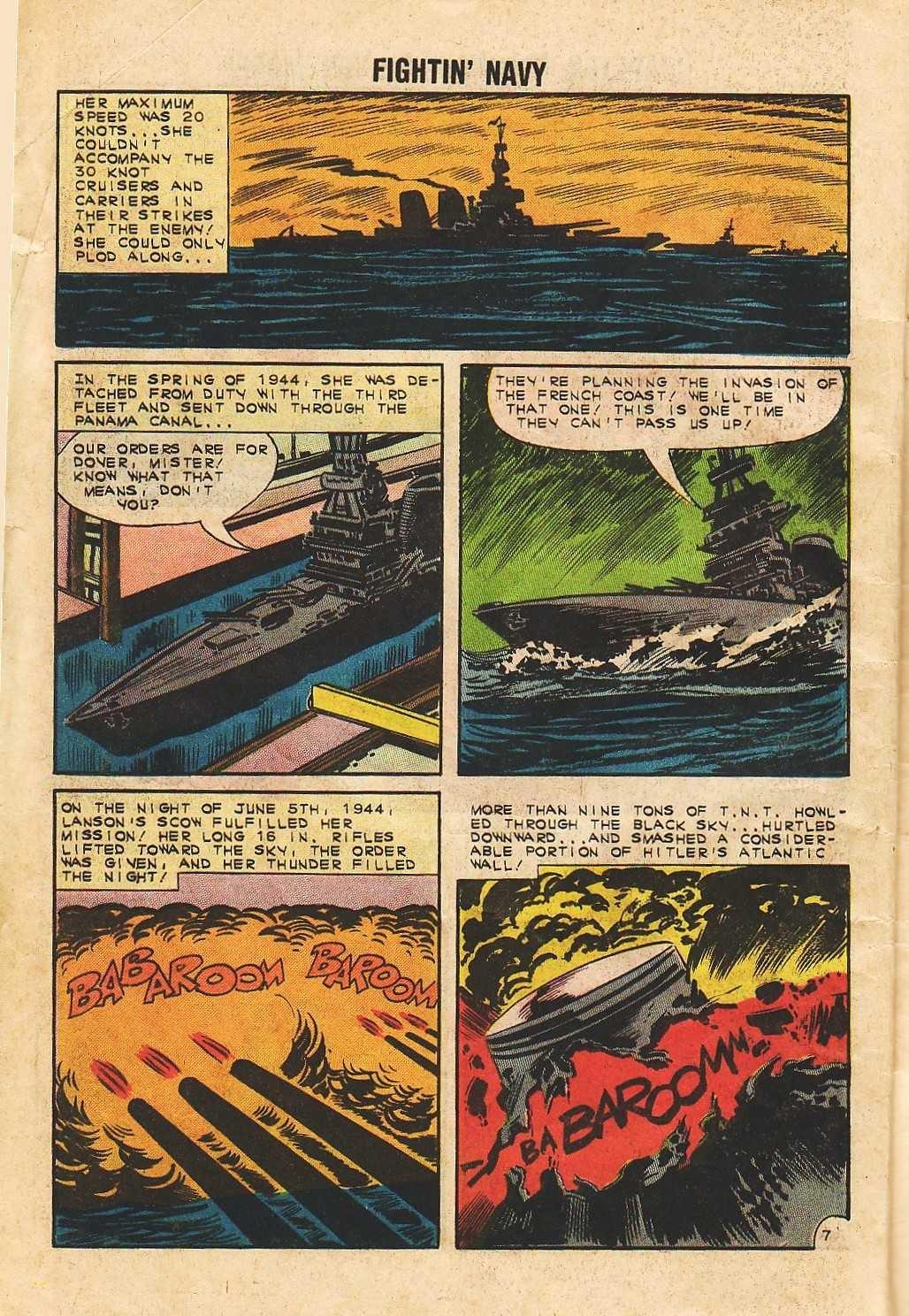 Read online Fightin' Navy comic -  Issue #105 - 10