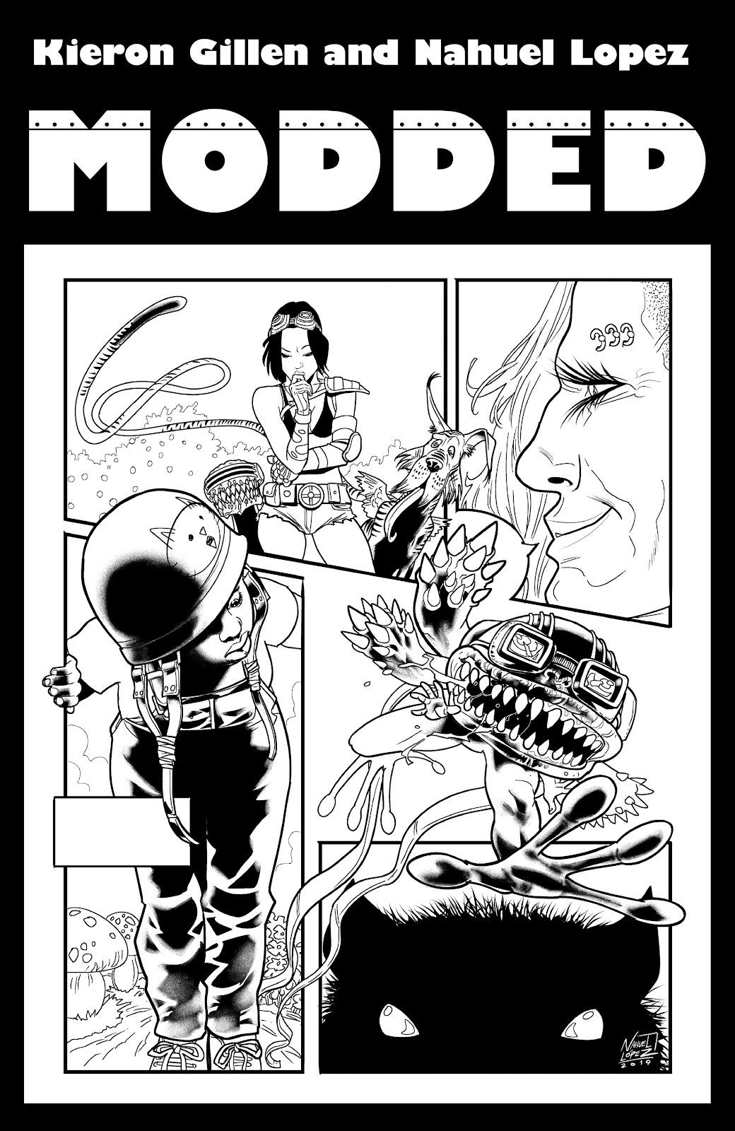 Read online Alan Moore's Cinema Purgatorio comic -  Issue #18 - 23