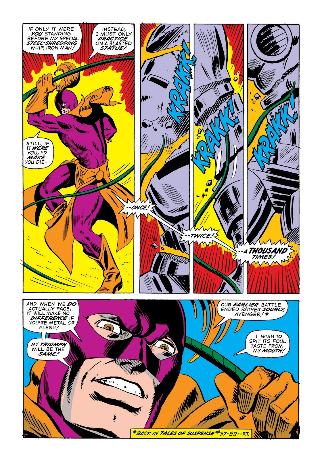 Read online Marvel Masterworks: The Invincible Iron Man comic -  Issue # TPB 9 (Part 2) - 76