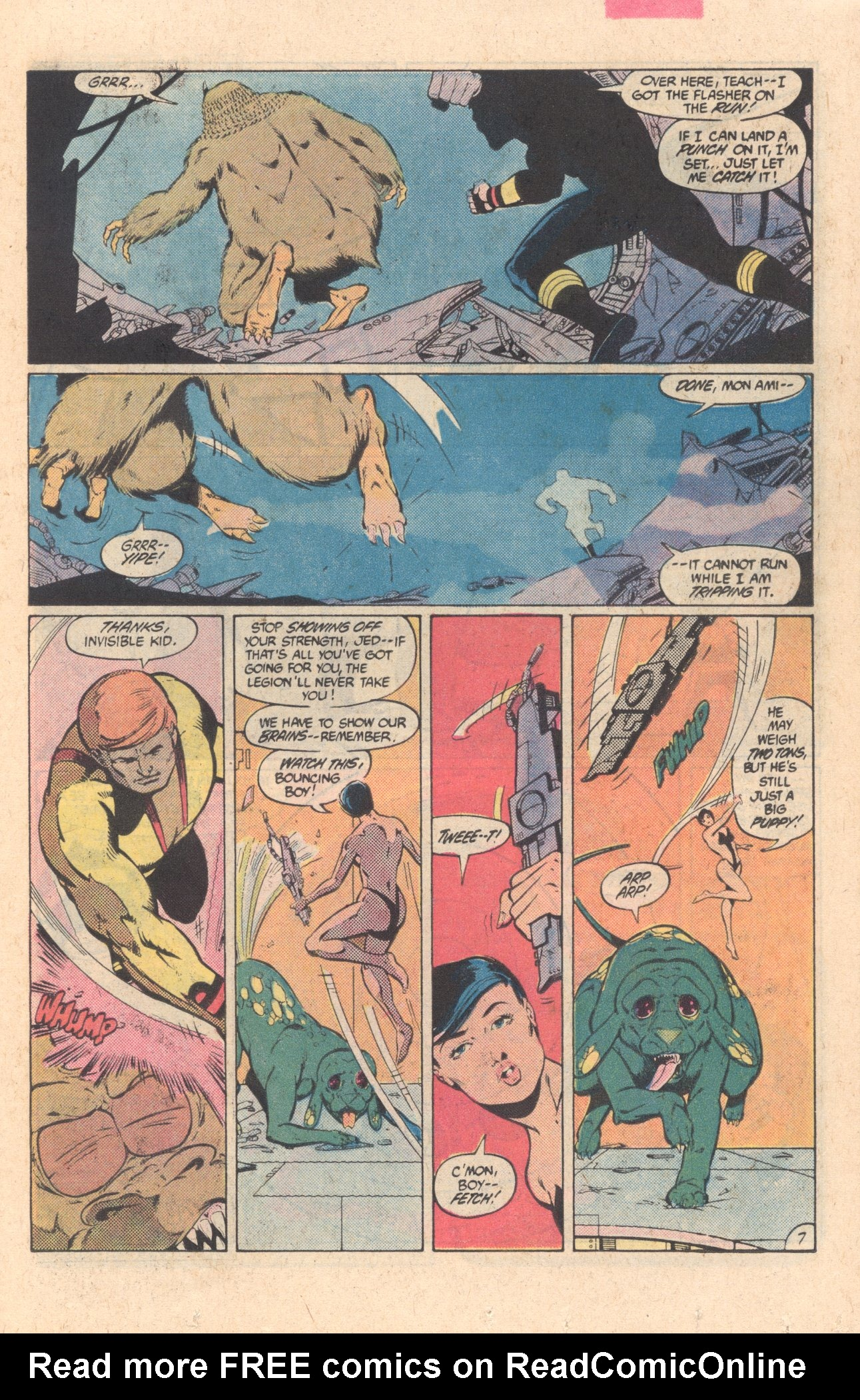 Legion of Super-Heroes (1980) 304 Page 7