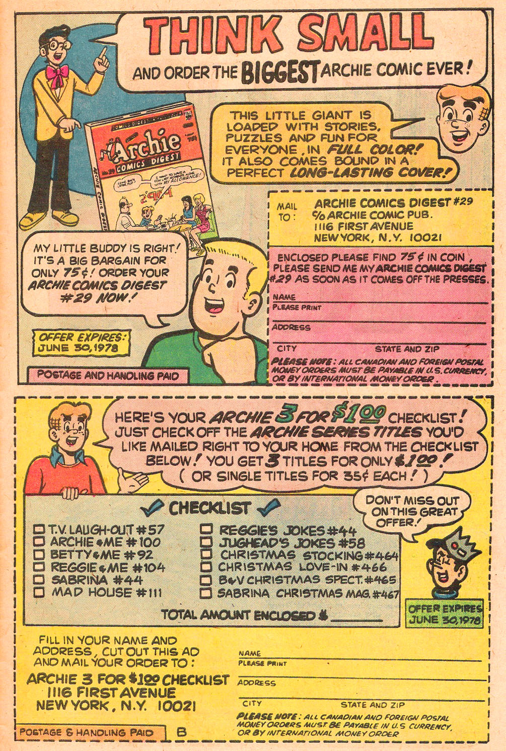 Read online Archie's Girls Betty and Veronica comic -  Issue #267 - 27