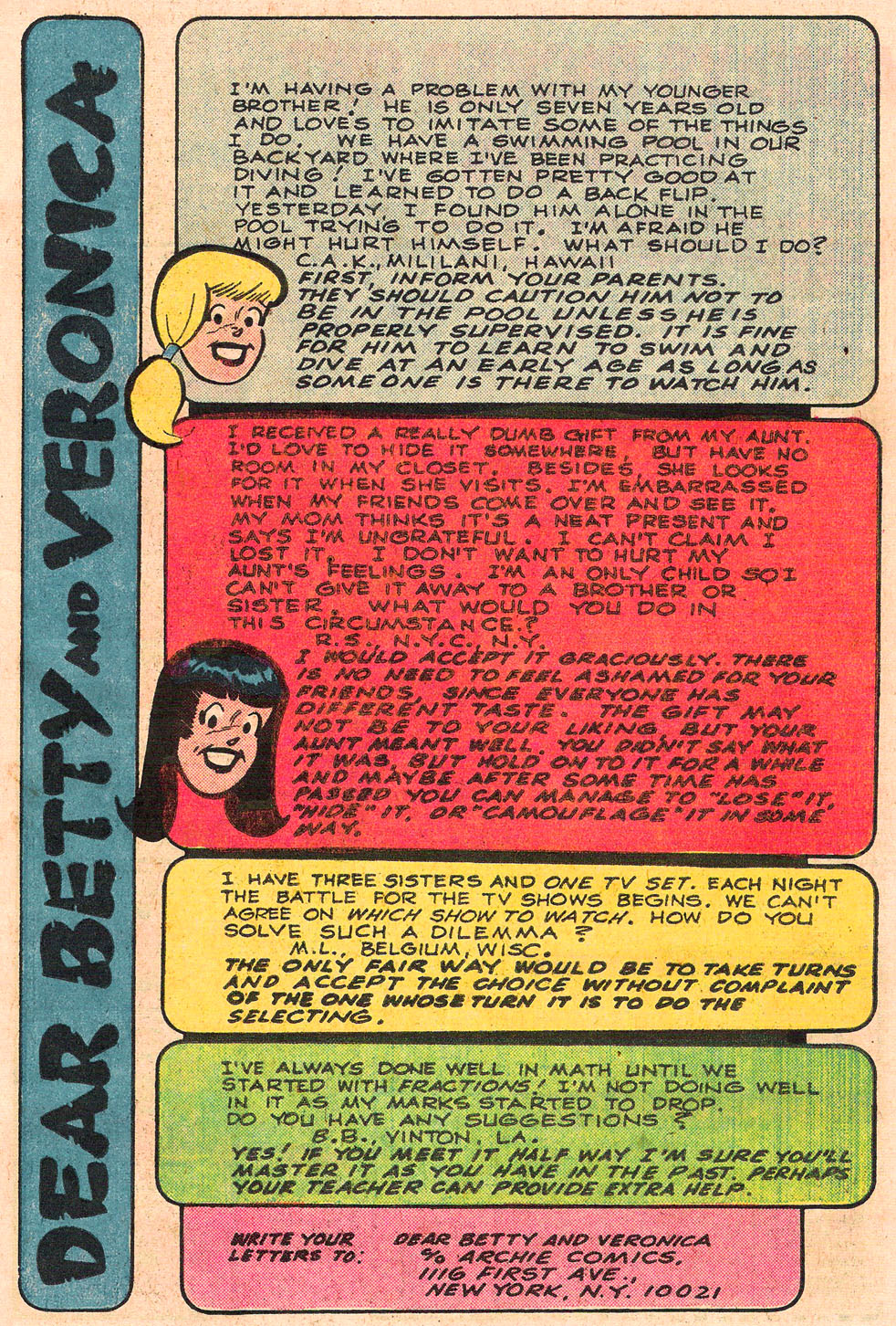 Read online Archie's Girls Betty and Veronica comic -  Issue #303 - 11